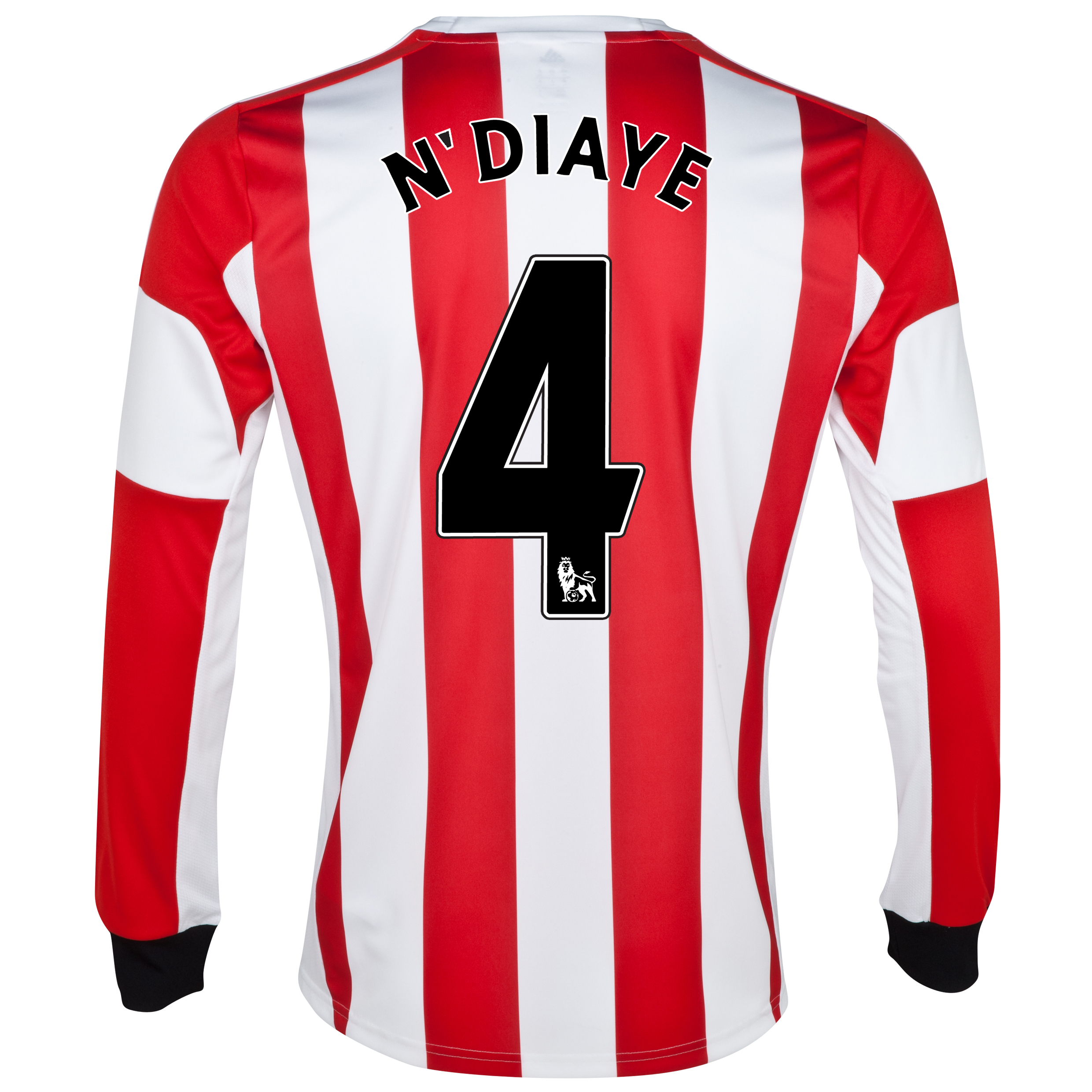 Sunderland Home Shirt 2013/14 - Long Sleeved  with N'Diaye 4 printing