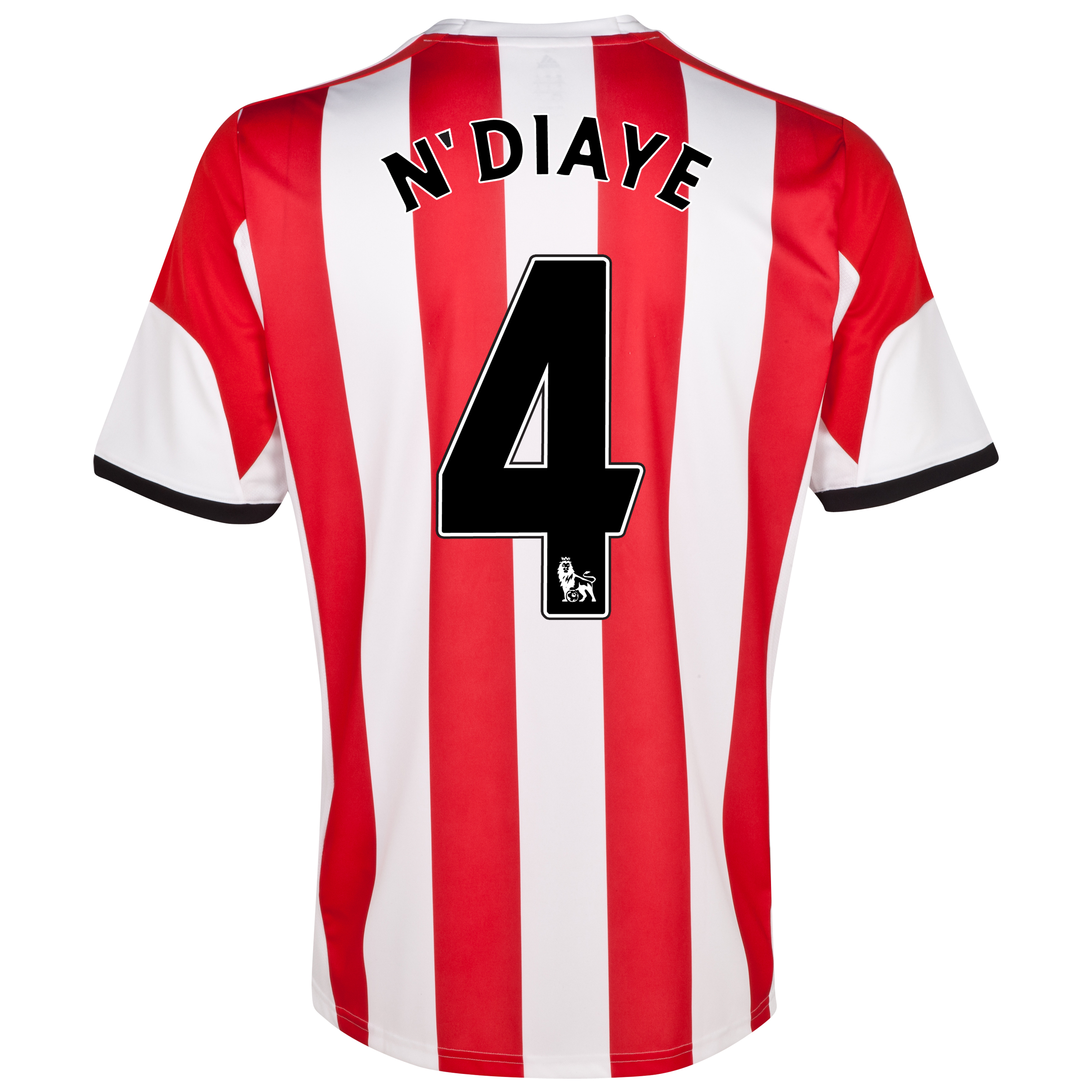 Sunderland Home Shirt 2013/14 - Junior with N'Diaye 4 printing