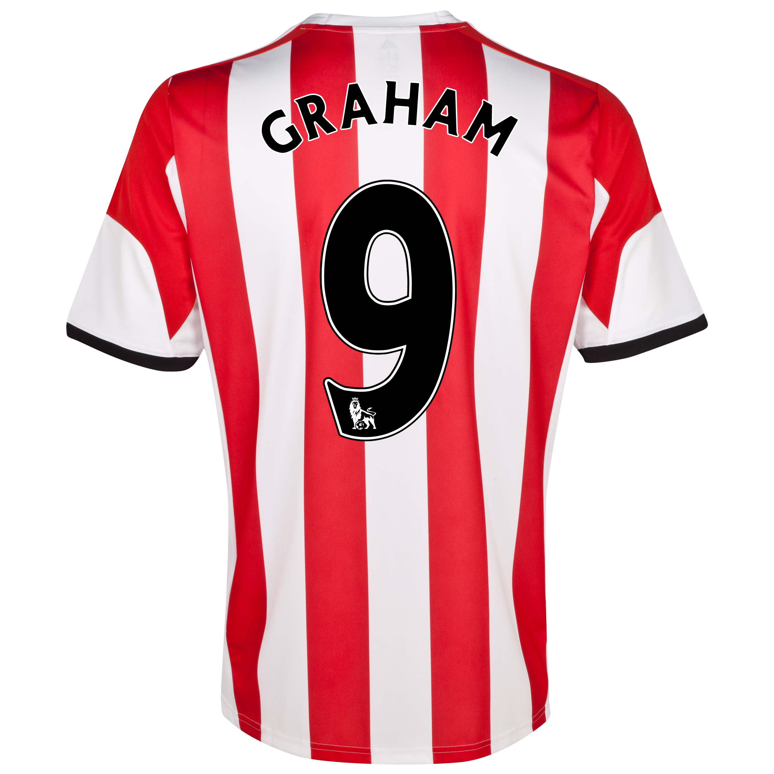 Sunderland Home Shirt 2013/14 - Junior with Graham 9 printing