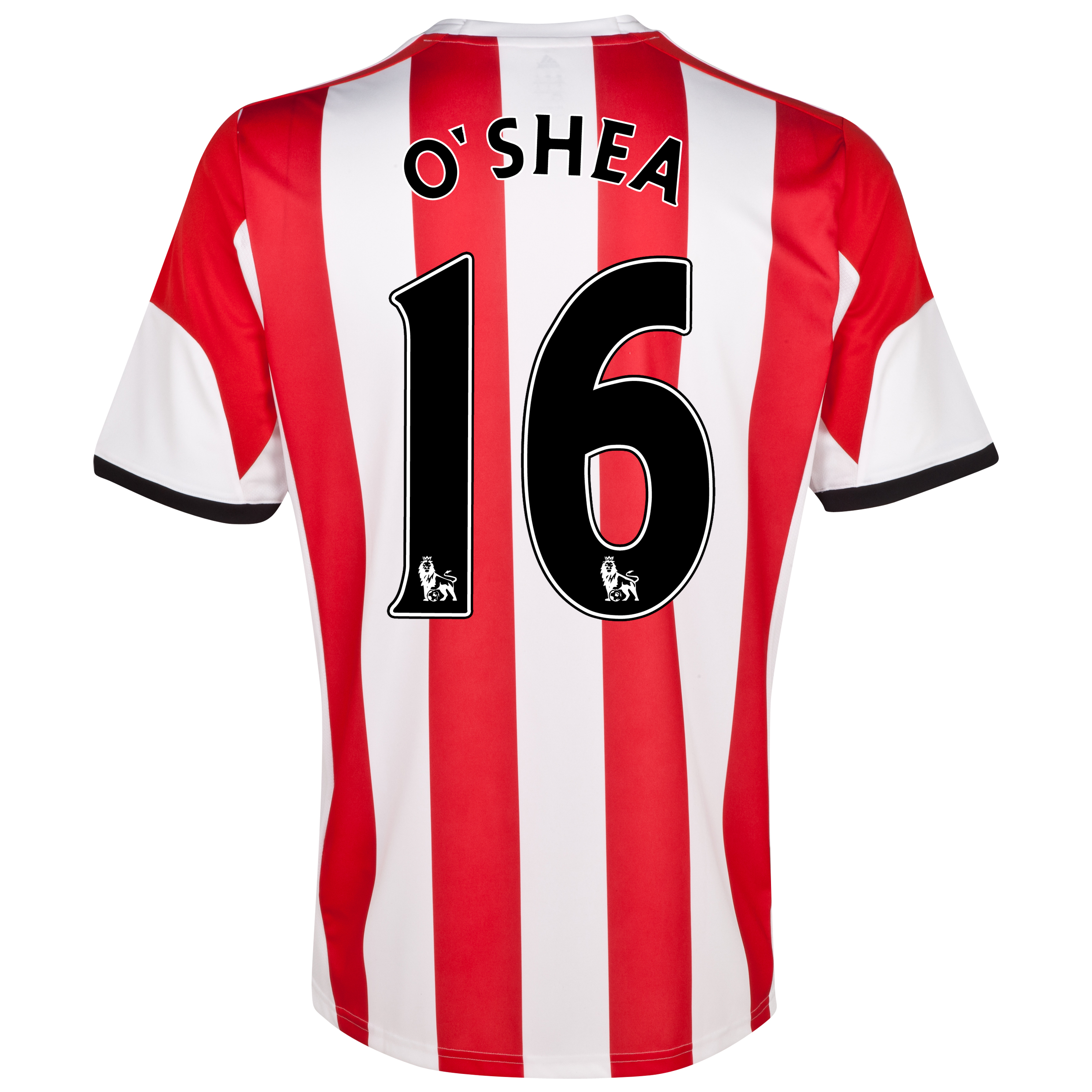 Sunderland Home Shirt 2013/14 - Junior with O'Shea 16 printing