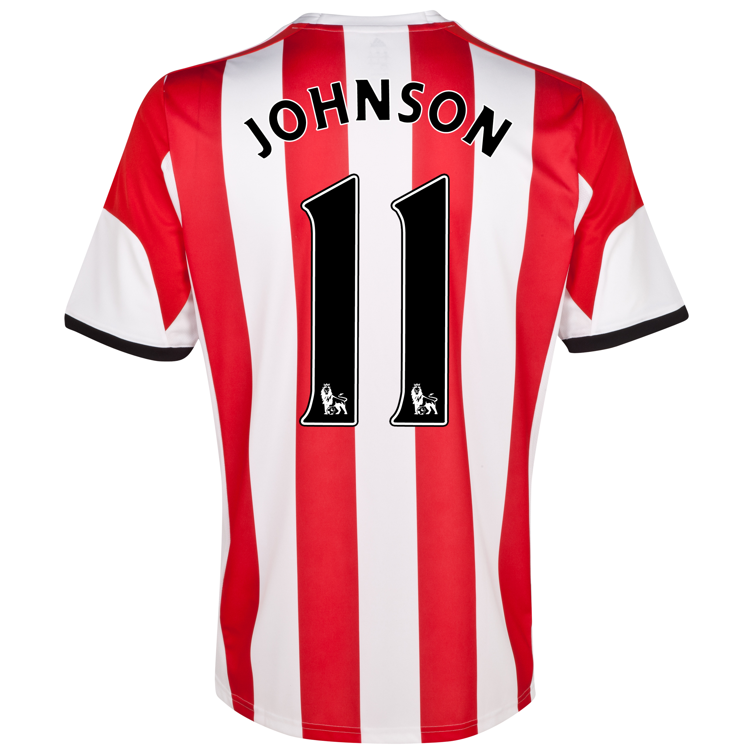 Sunderland Home Shirt 2013/14 - Junior with Johnson 11 printing