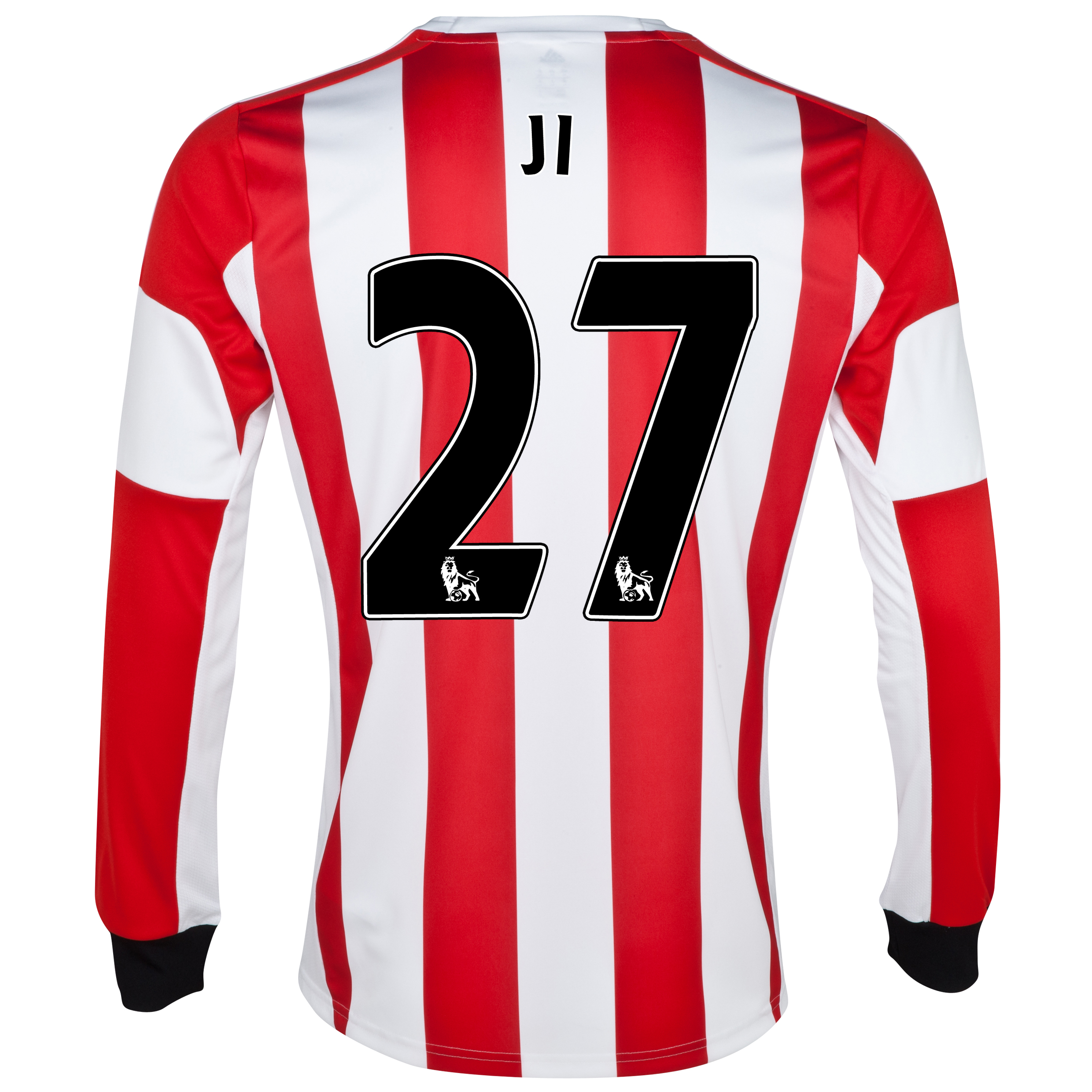 Sunderland Home Shirt 2013/14 - Long Sleeved - Junior with Ji 27 printing