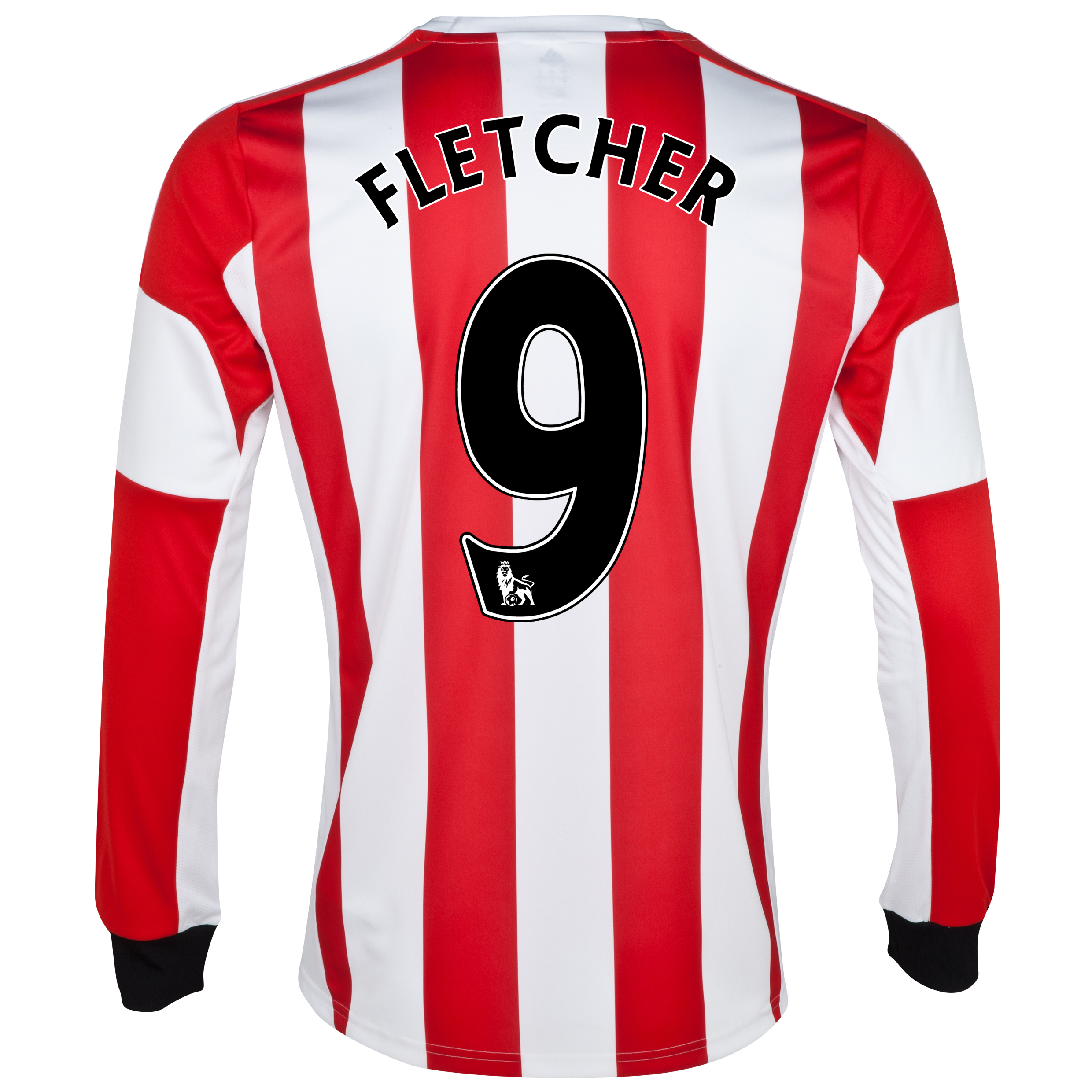 Sunderland Home Shirt 2013/14 - Long Sleeved - Junior with Fletcher 9 printing