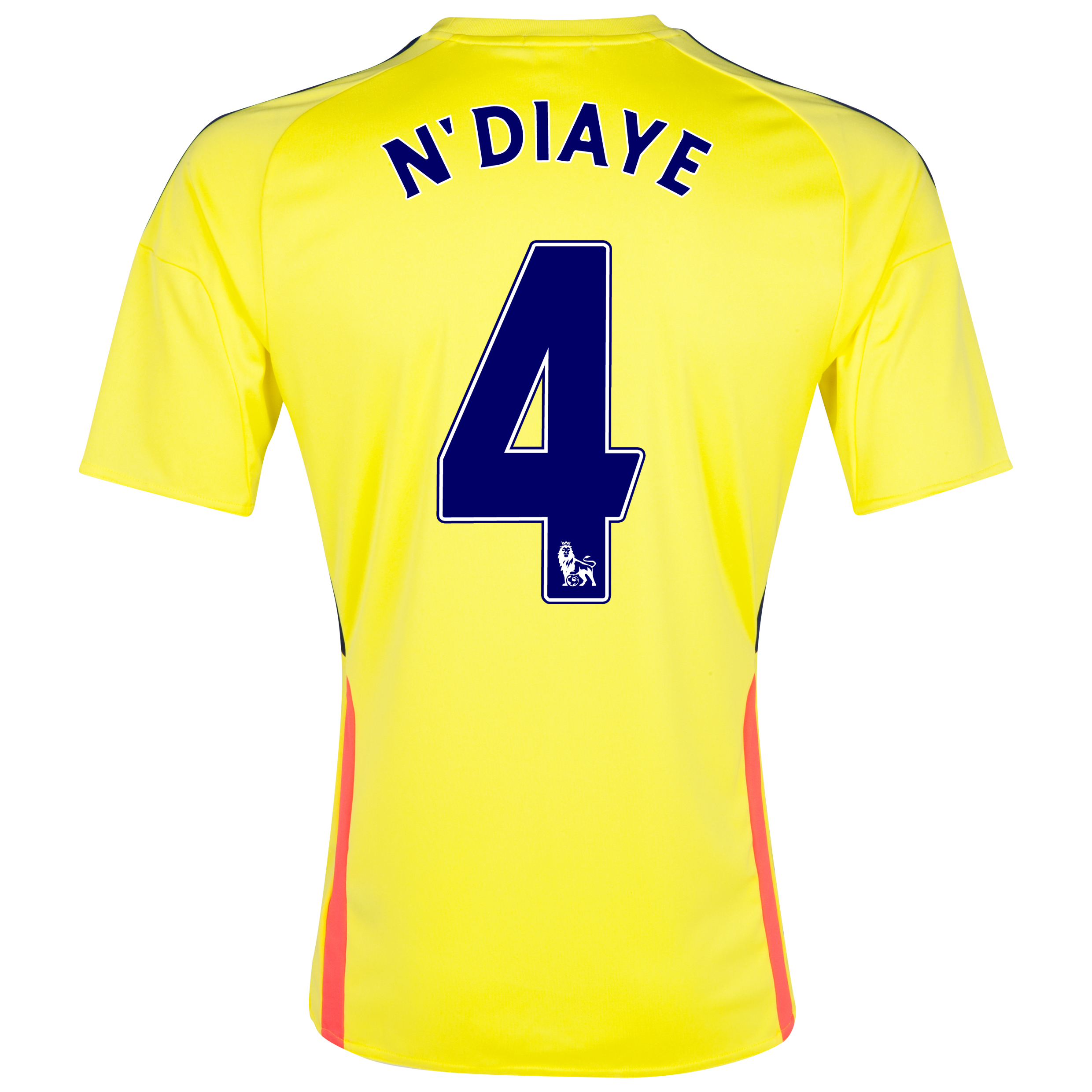 Sunderland Away Shirt 2013/14 with N'Diaye 4 printing