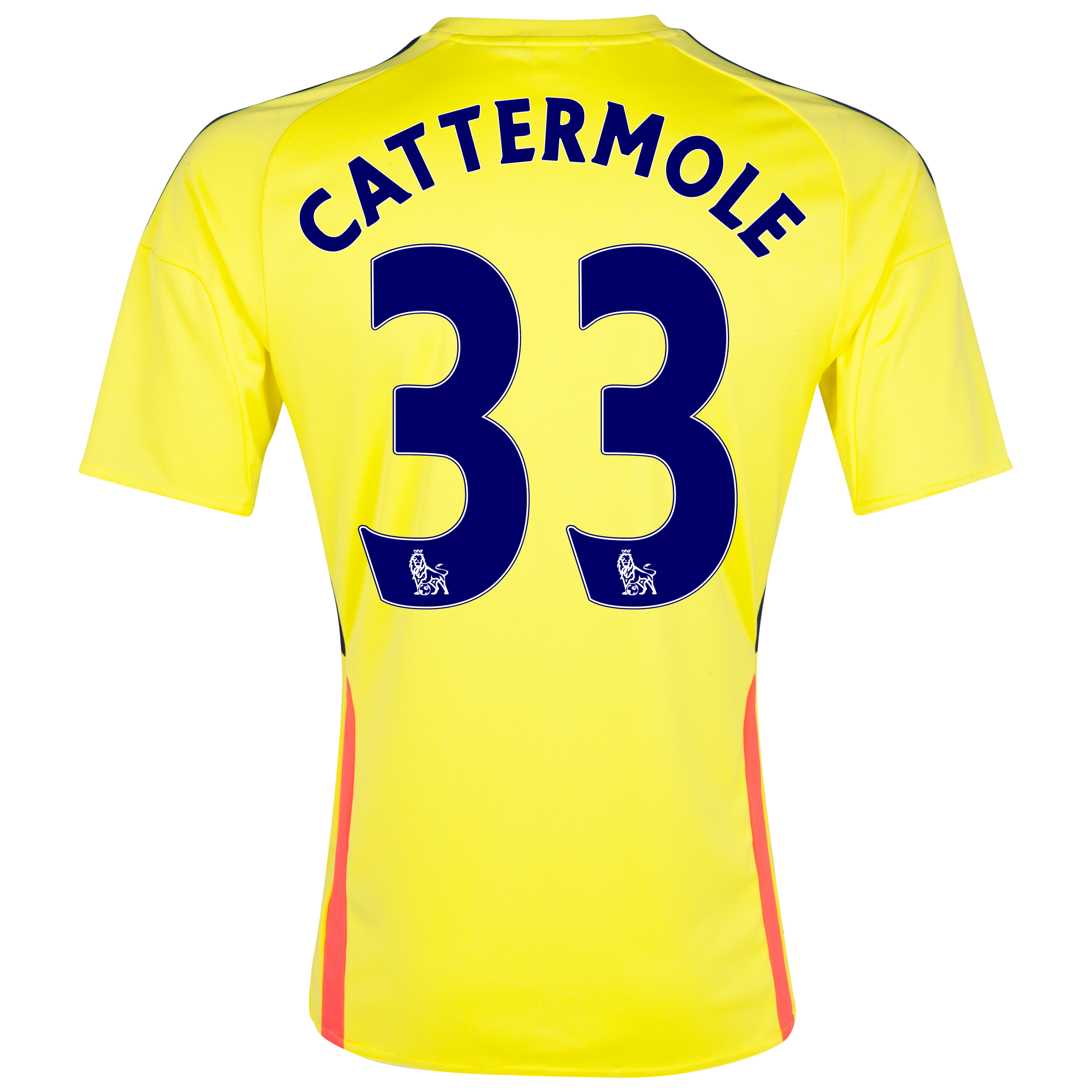 Sunderland Away Shirt 2013/14 with Cattermole 33 printing