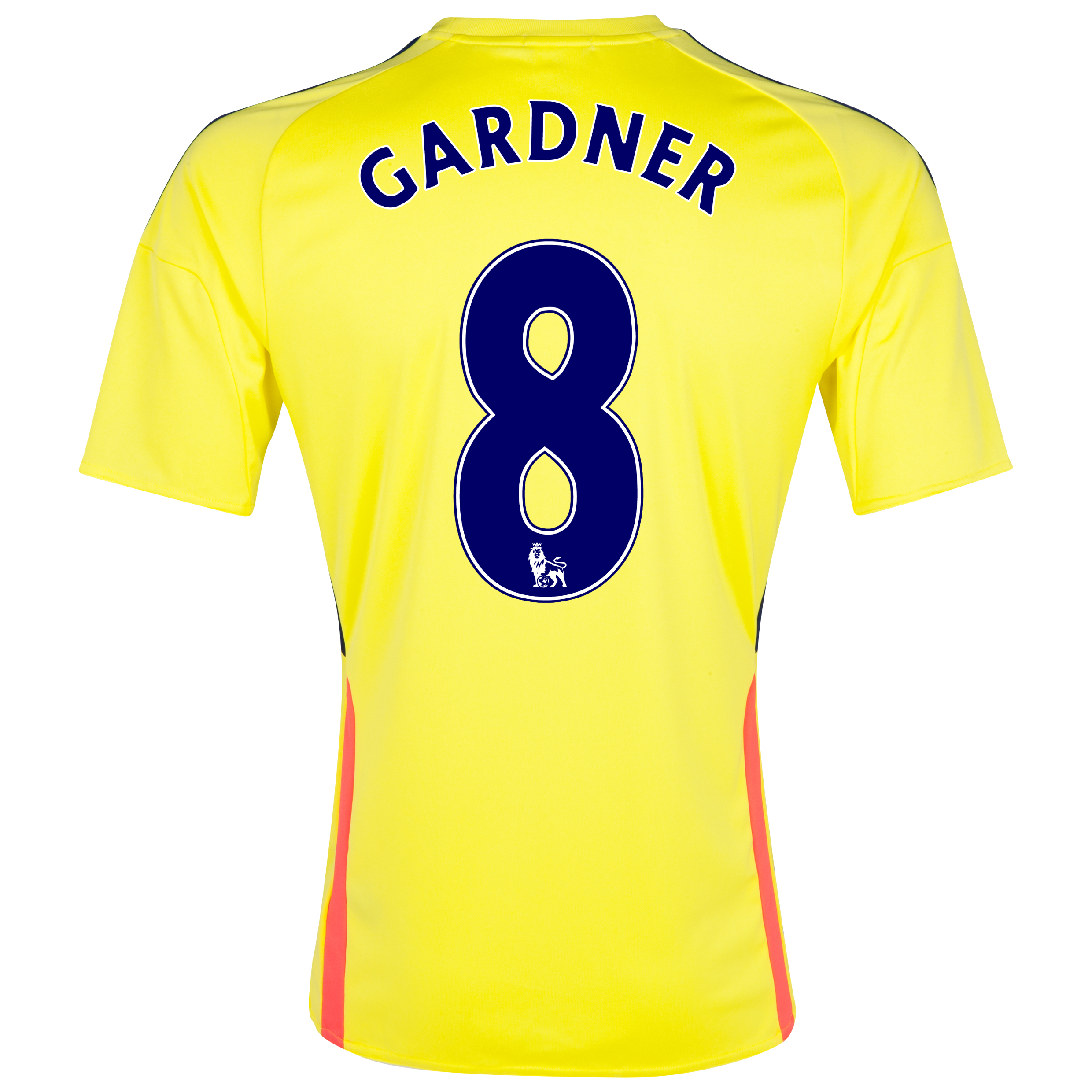Sunderland Away Shirt 2013/14 with Gardner 8 printing