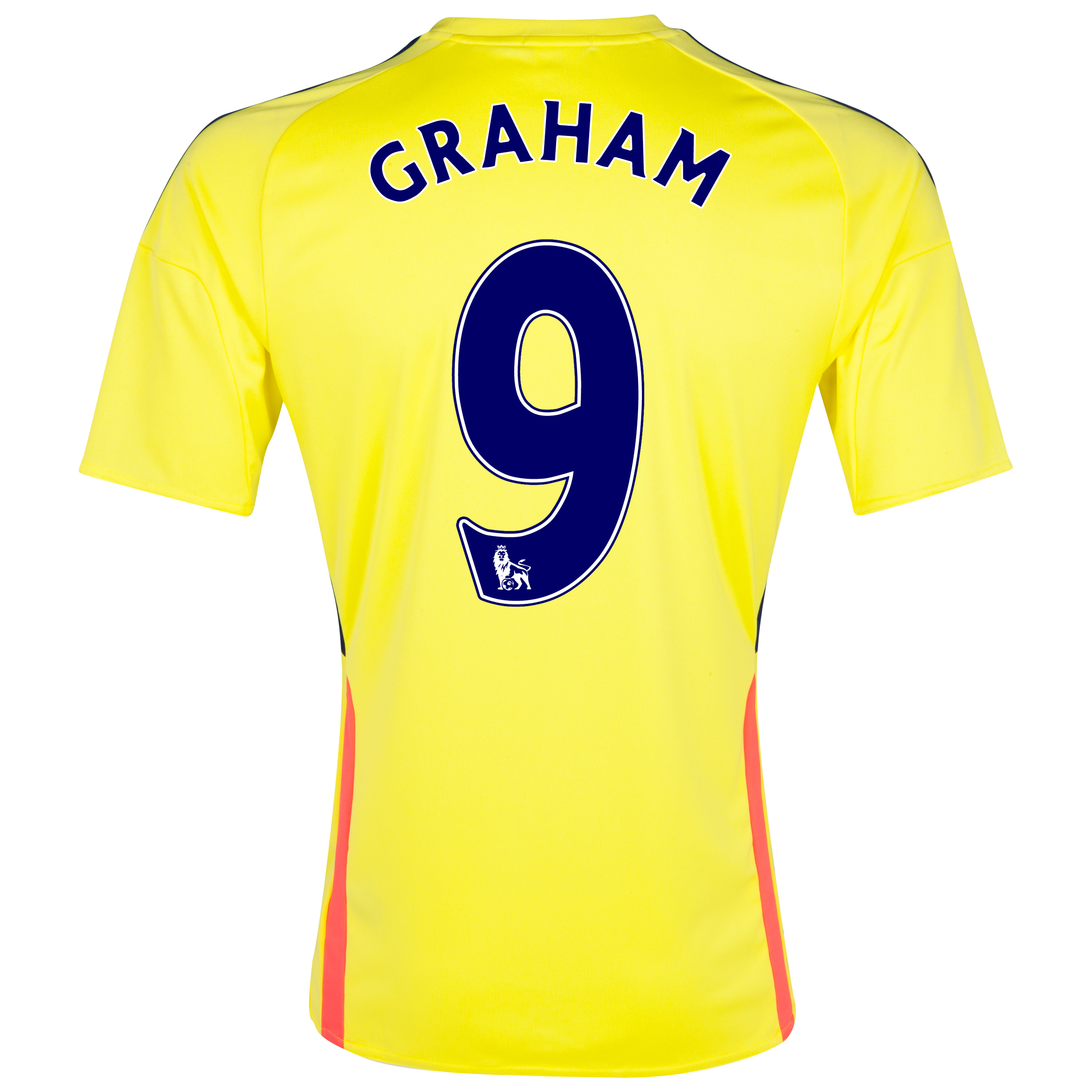 Sunderland Away Shirt 2013/14 with Graham 9 printing