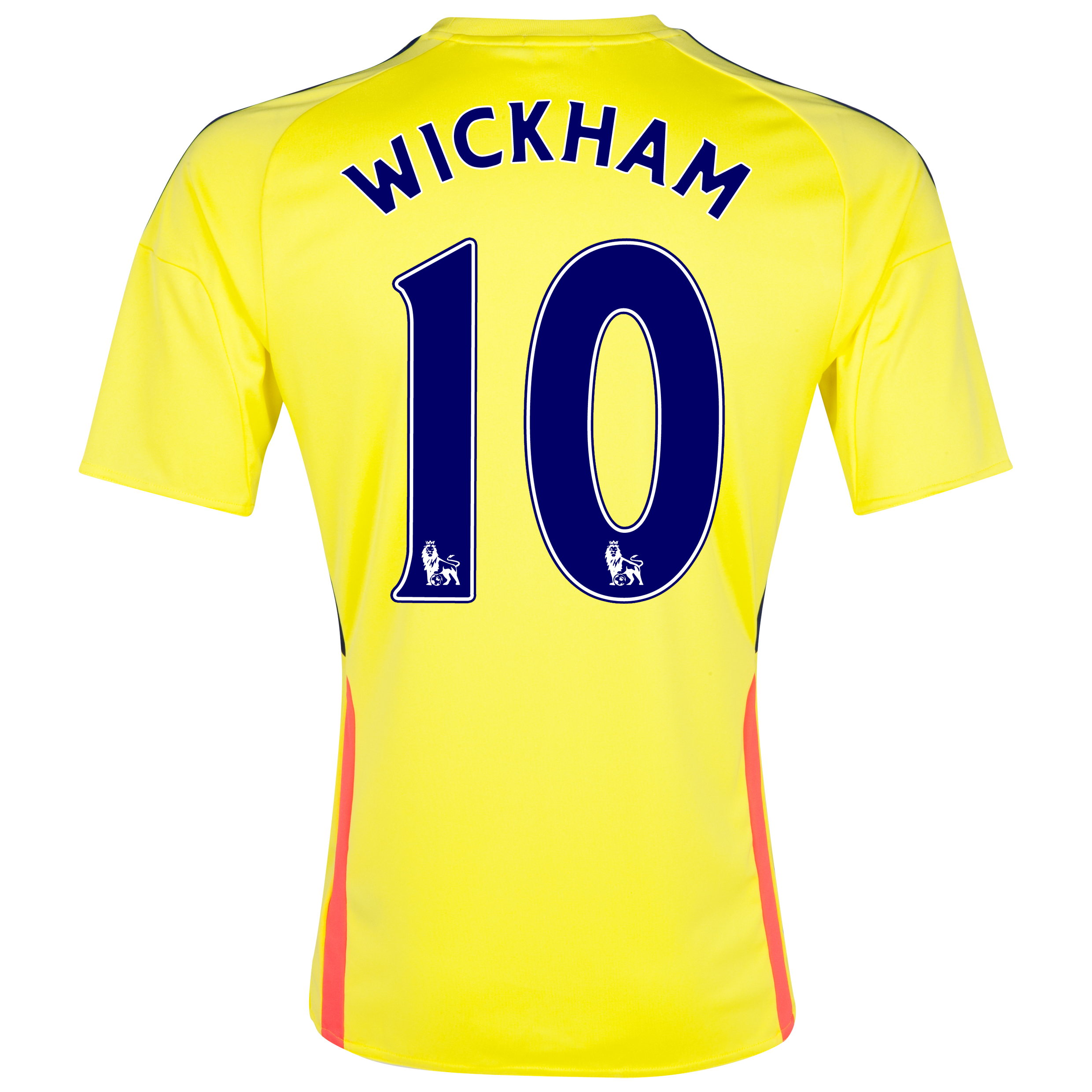 Sunderland Away Shirt 2013/14 with Wickham 10 printing