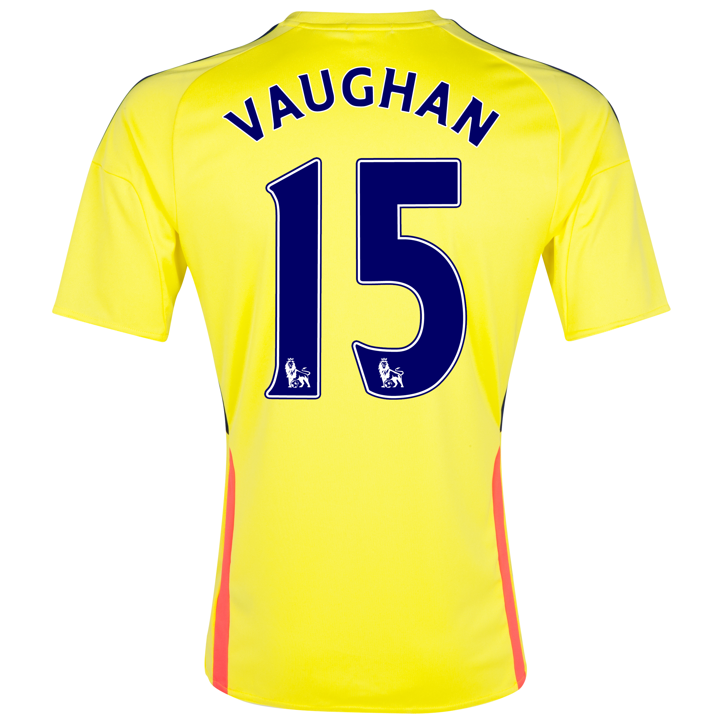 Sunderland Away Shirt 2013/14 with Vaughan 15 printing