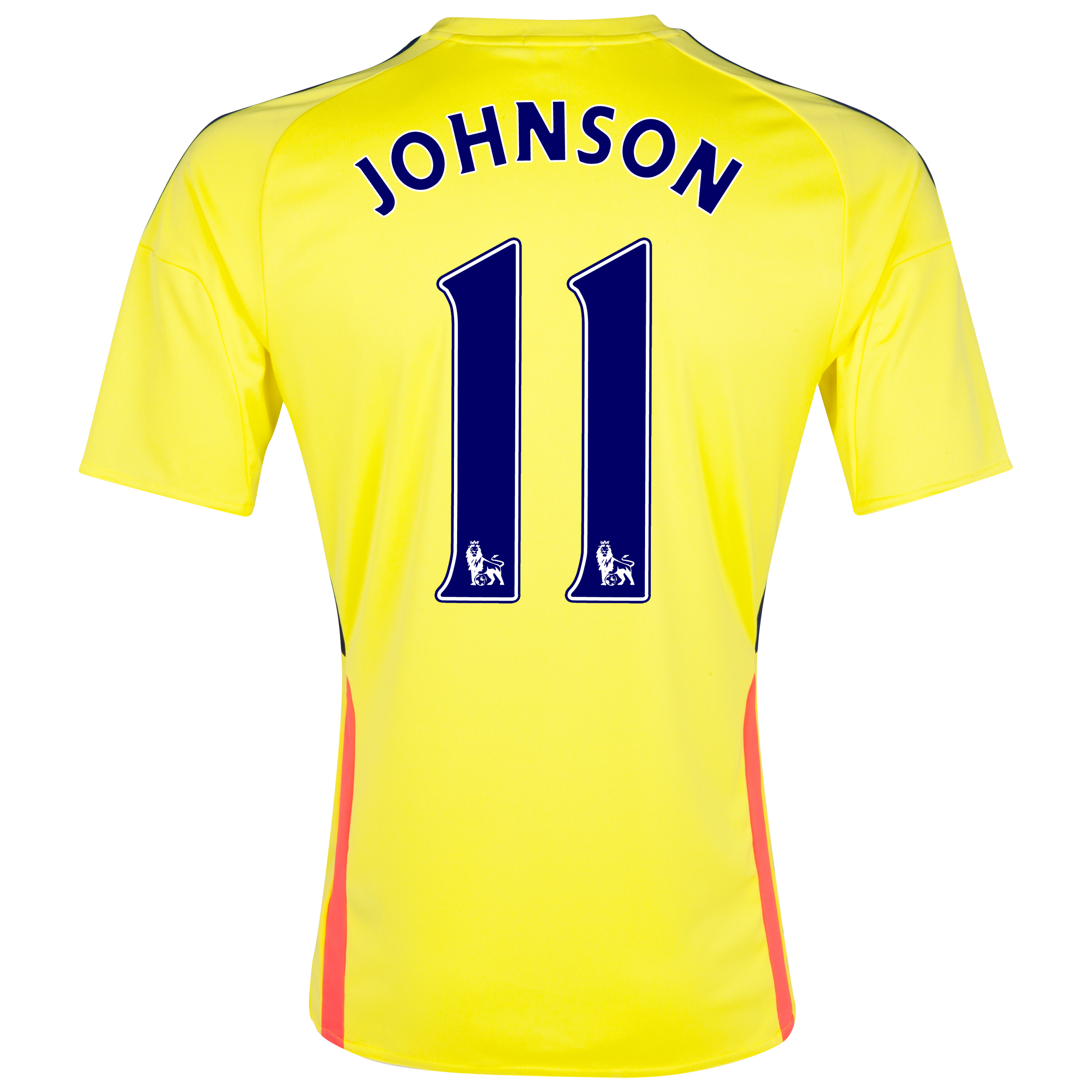 Sunderland Away Shirt 2013/14 with Johnson 11 printing