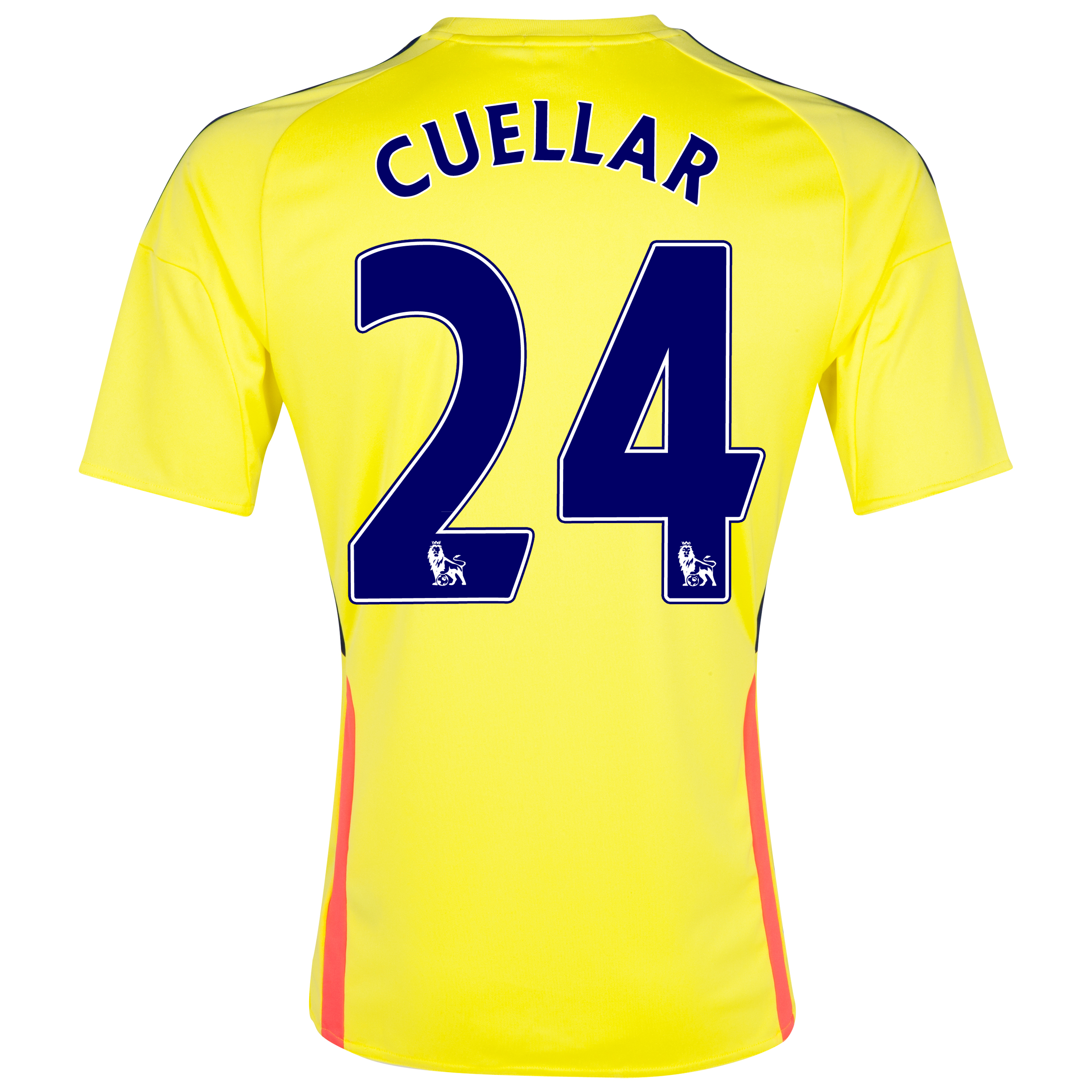 Sunderland Away Shirt 2013/14 with Cuellar 24 printing