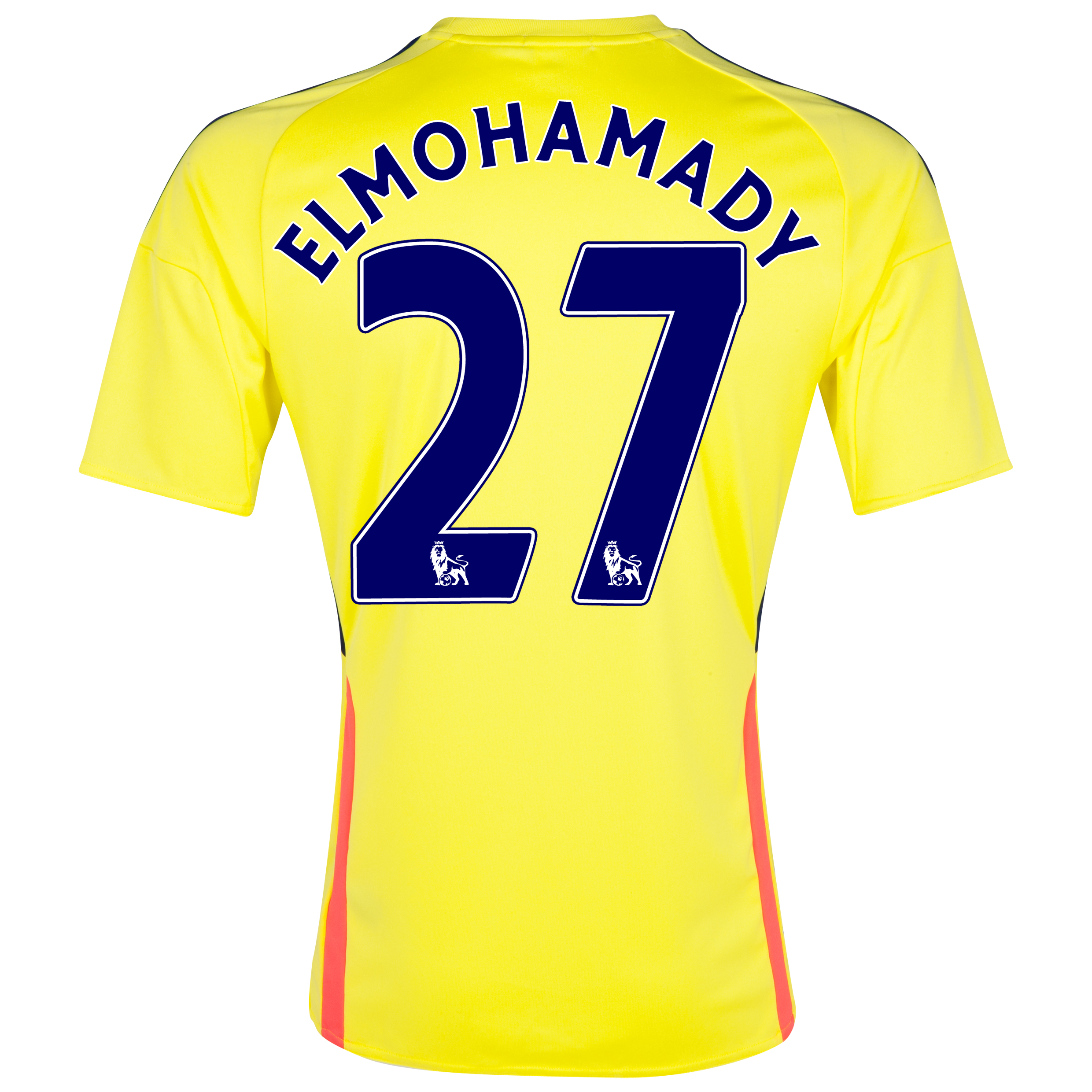 Sunderland Away Shirt 2013/14 with Elmohamady 27 printing