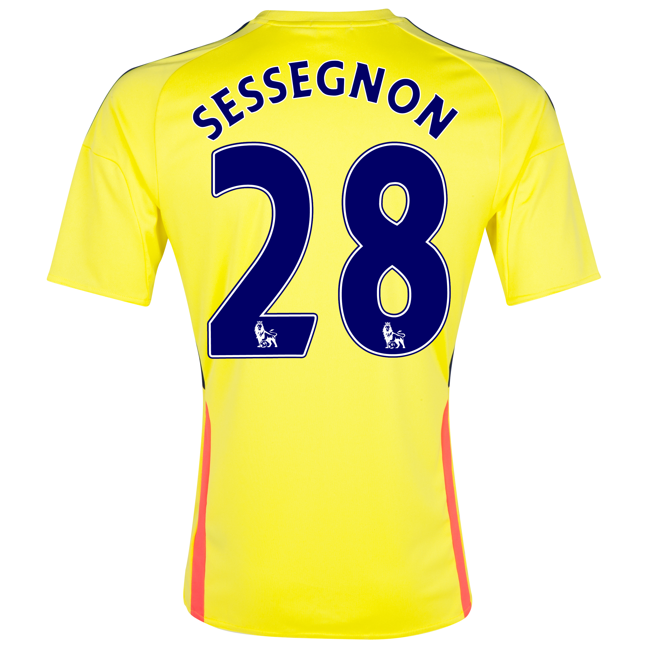 Sunderland Away Shirt 2013/14 with Sessegnon 28 printing