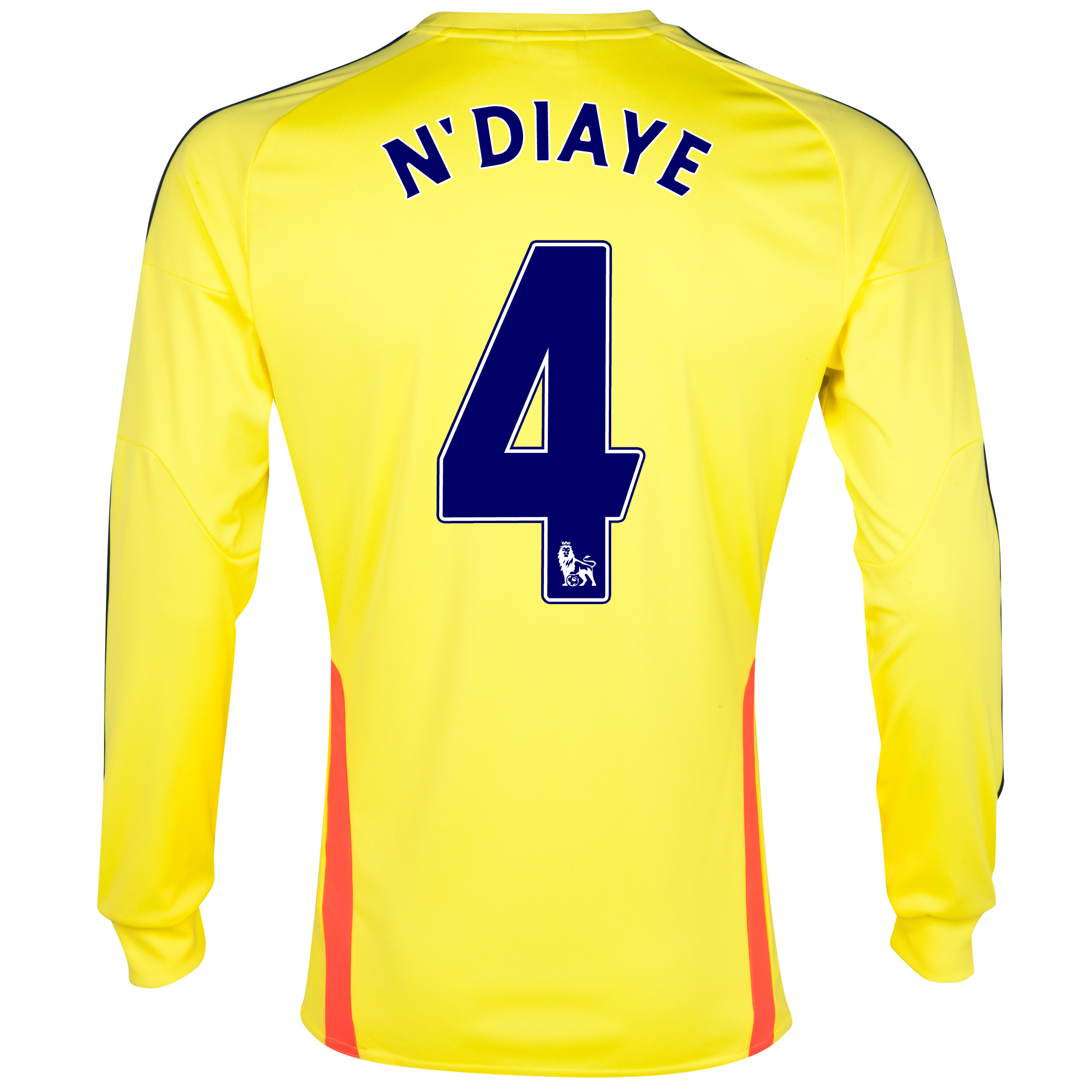 Sunderland Away Shirt 2013/14 - Long Sleeved with N'Diaye 4 printing