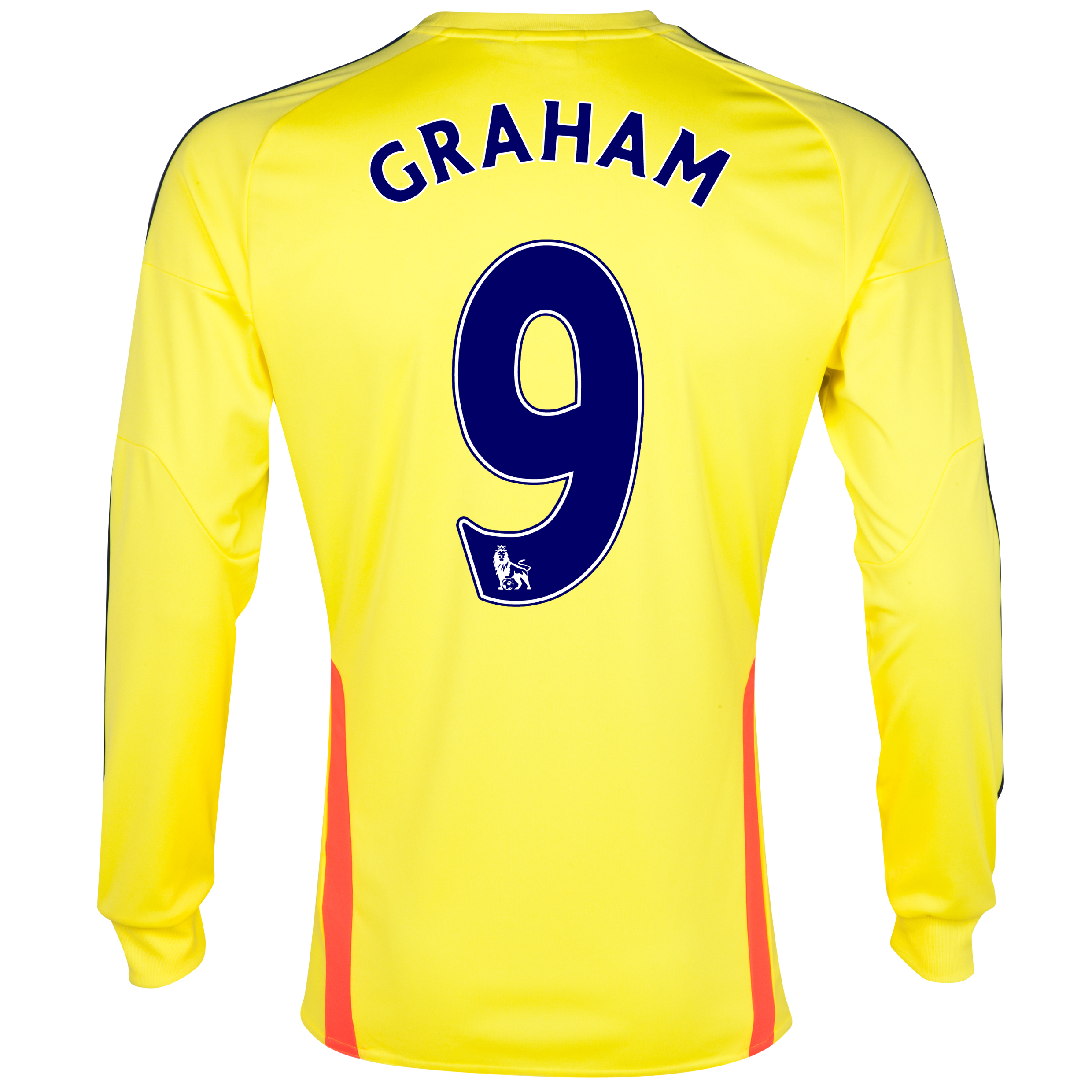 Sunderland Away Shirt 2013/14 - Long Sleeved with Graham 9 printing