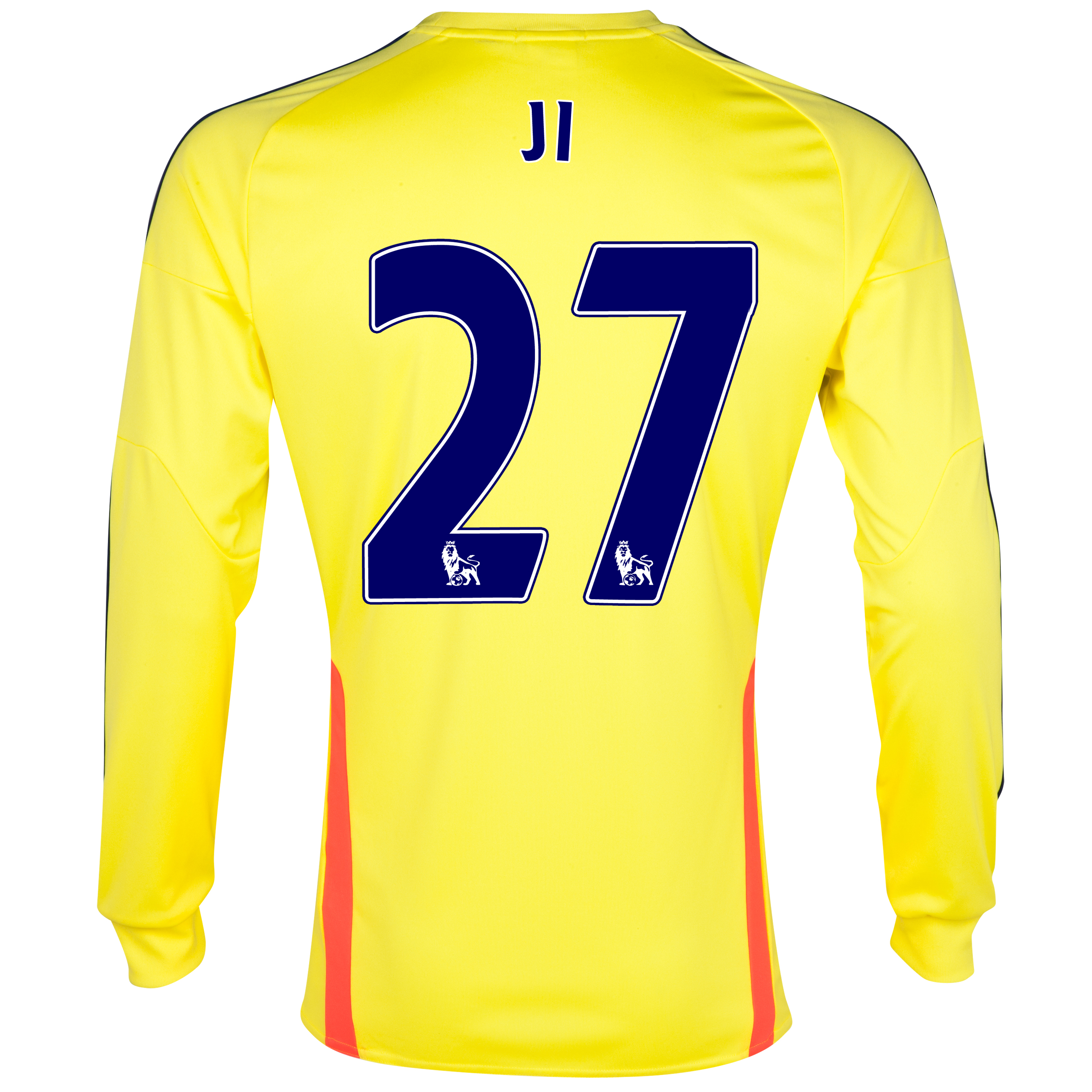 Sunderland Away Shirt 2013/14 - Long Sleeved with Ji 27 printing