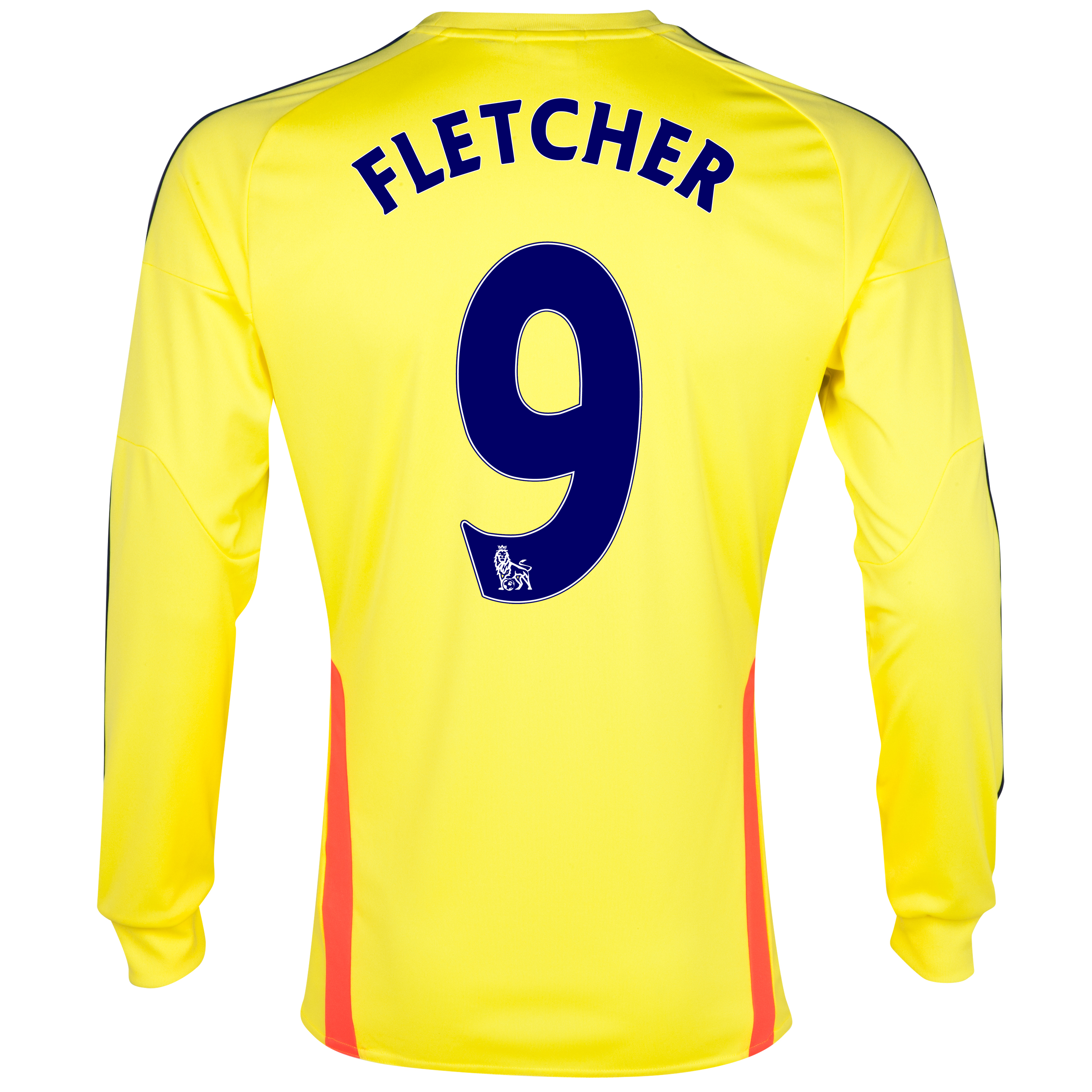 Sunderland Away Shirt 2013/14 - Long Sleeved with Fletcher 9 printing