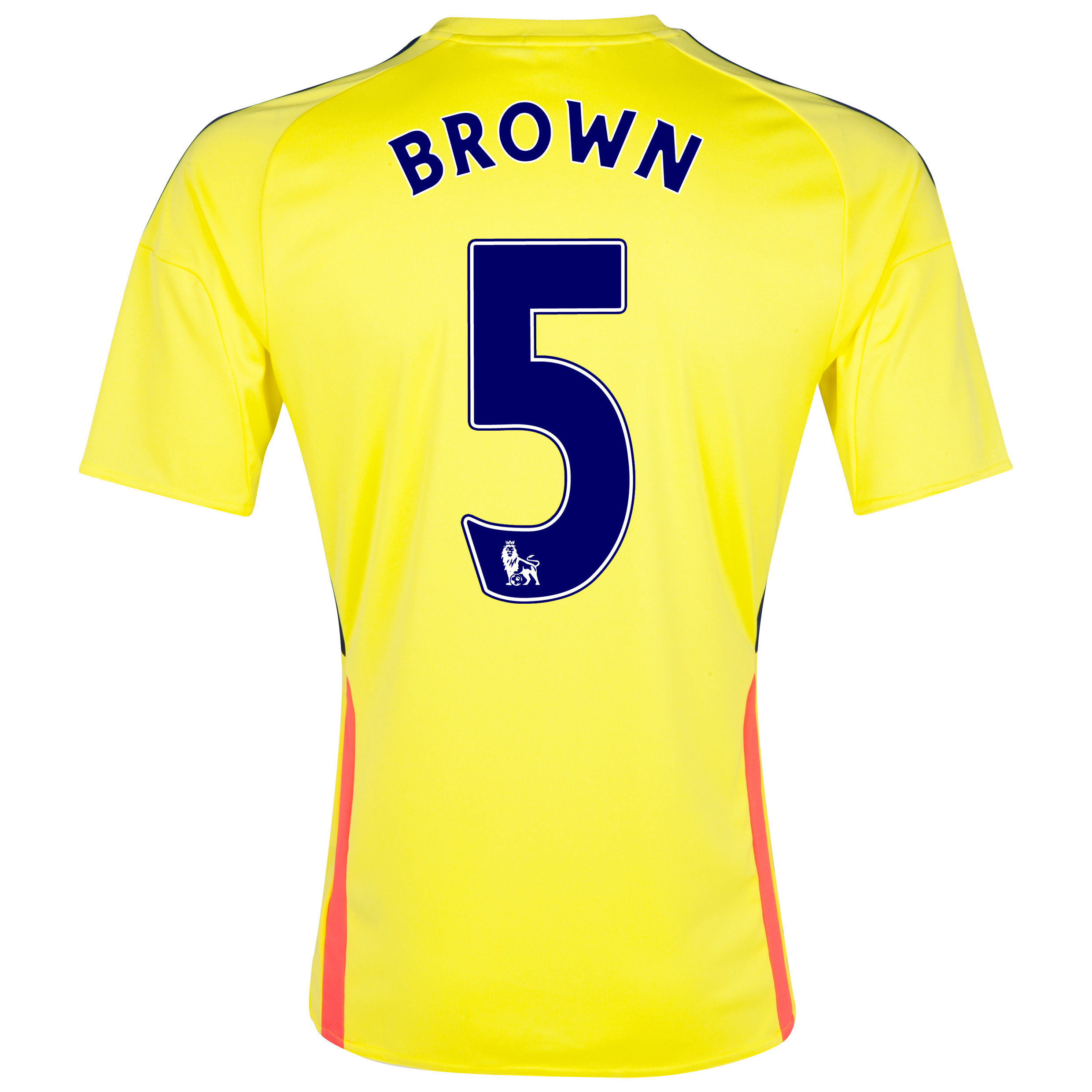 Sunderland Away Shirt 2013/14 - Junior with Brown 5 printing
