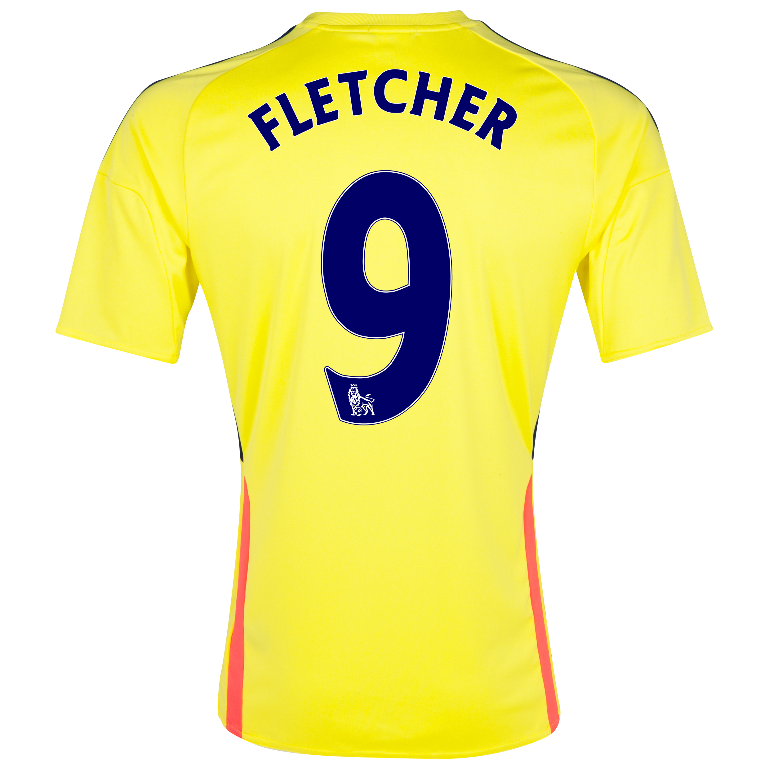 Sunderland Away Shirt 2013/14 - Junior with Fletcher 9 printing