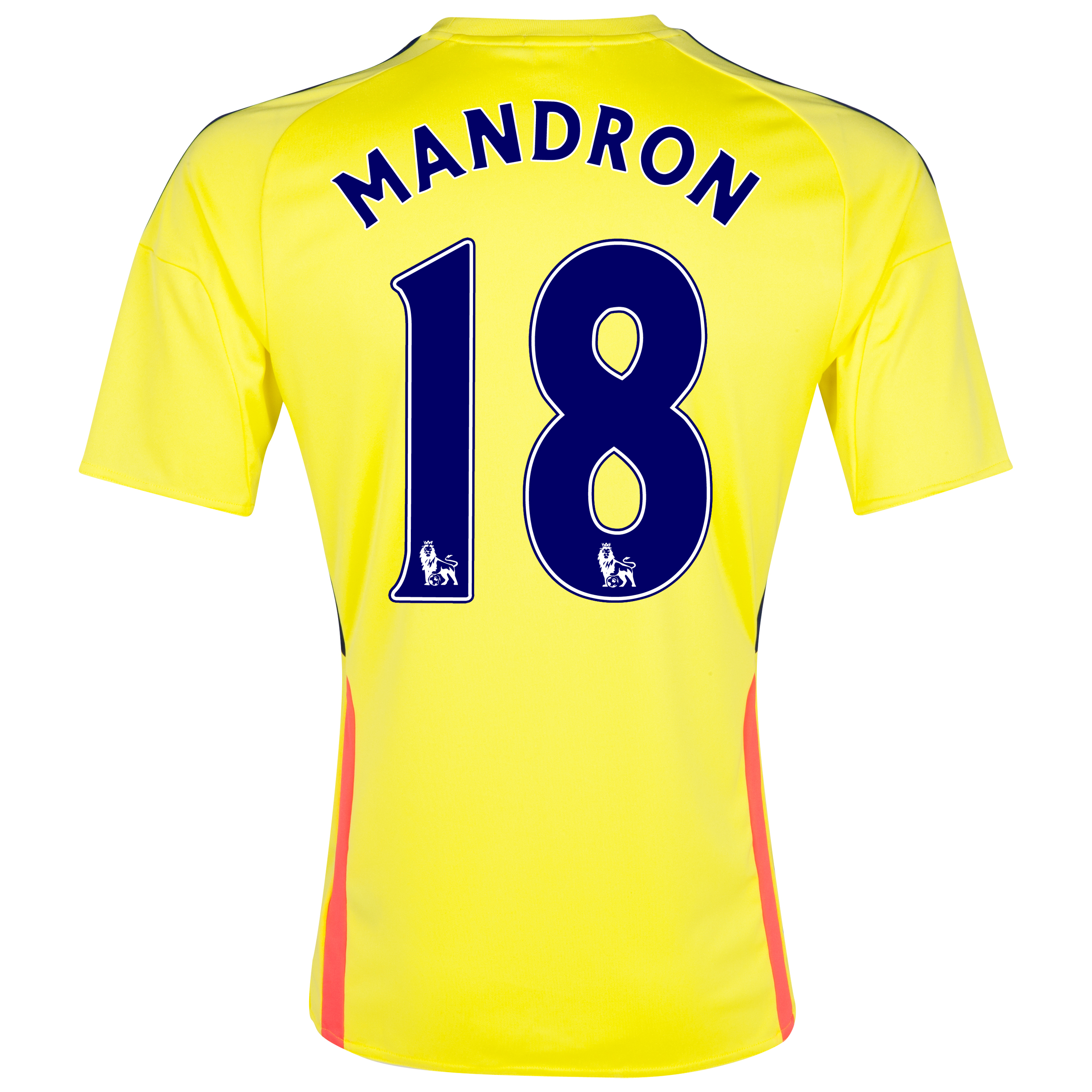 Sunderland Away Shirt 2013/14 - Junior with Mandron 18 printing