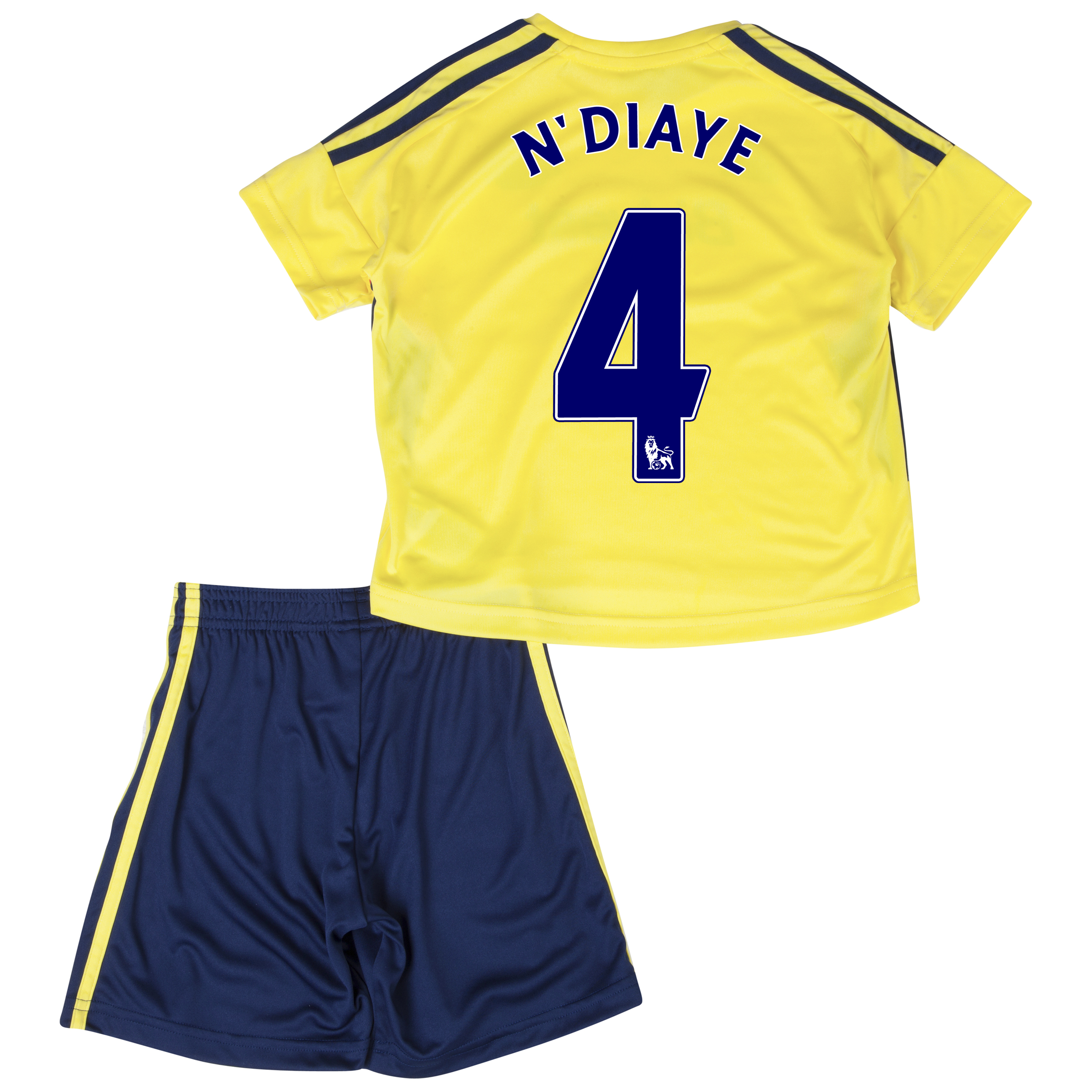 Sunderland Away Minikit 2013/14 - Infants with N'Diaye 4 printing