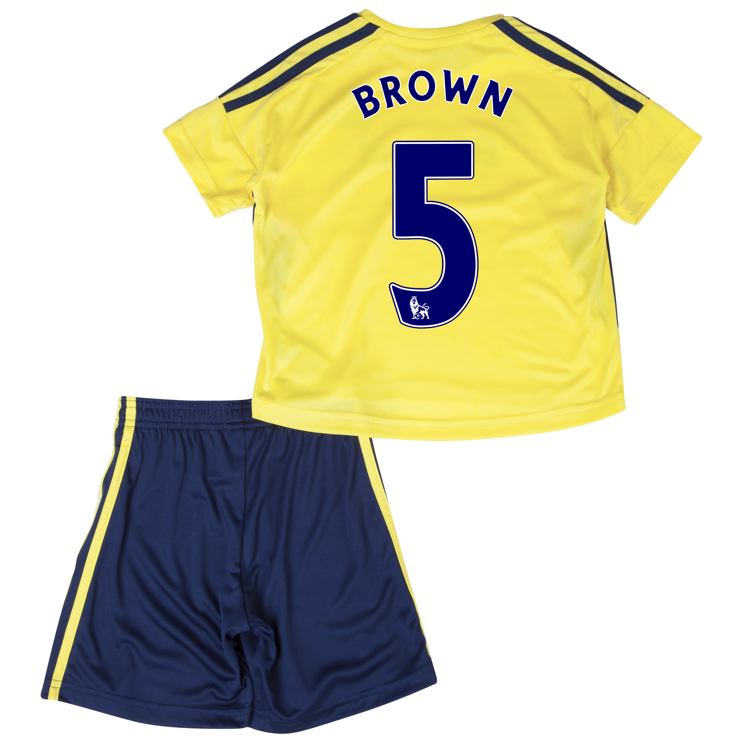Sunderland Away Minikit 2013/14 - Infants with Brown 5 printing