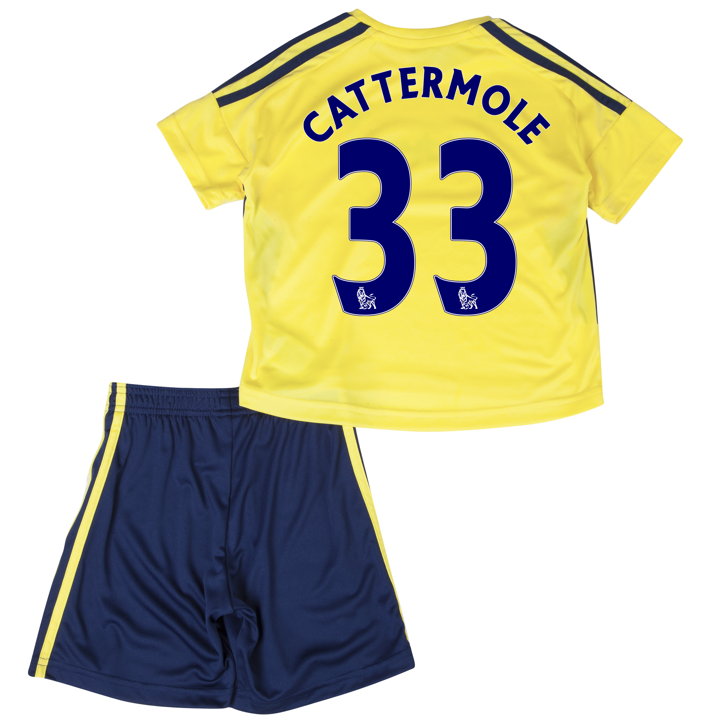 Sunderland Away Minikit 2013/14 - Infants with Cattermole 33 printing