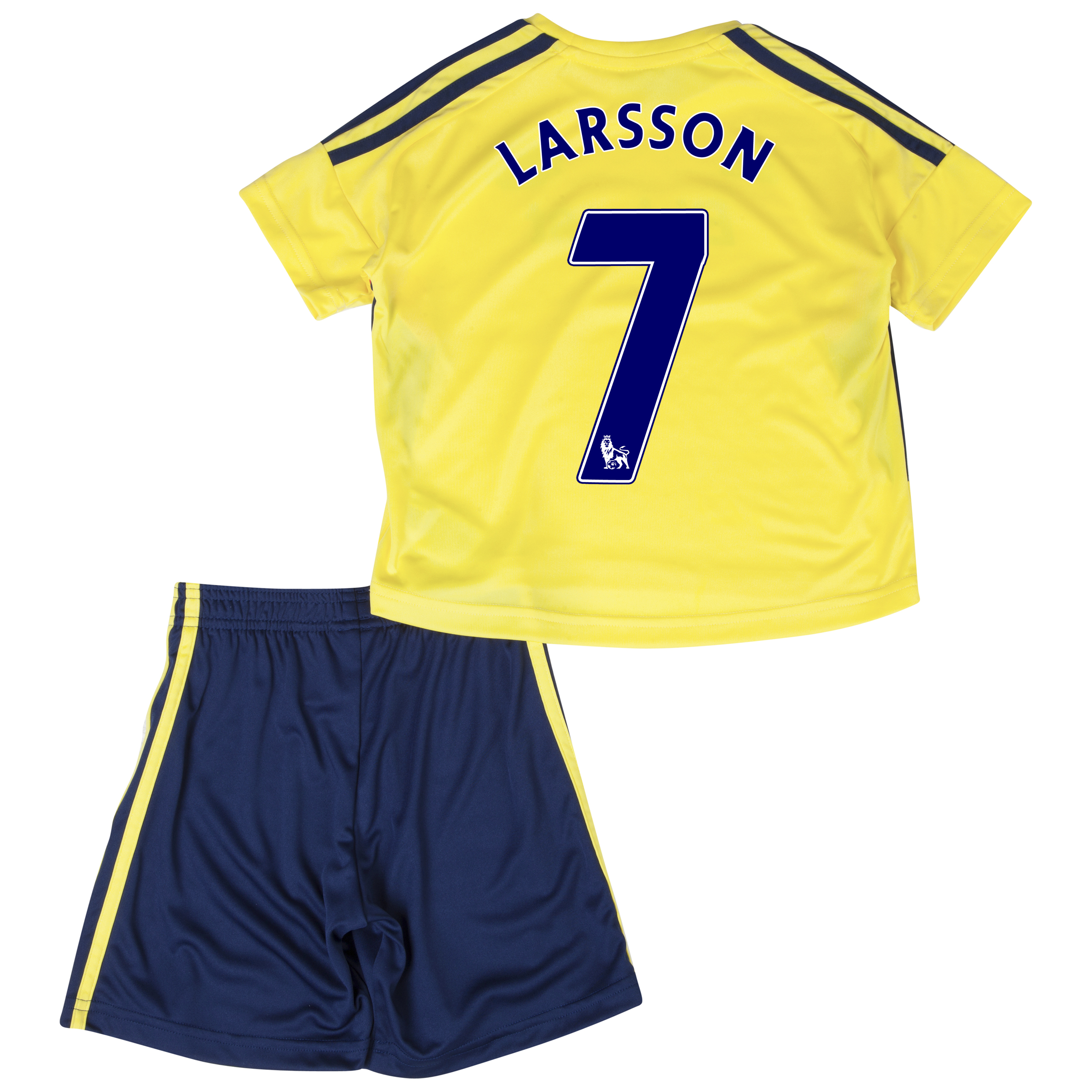 Sunderland Away Minikit 2013/14 - Infants with Larsson 7 printing