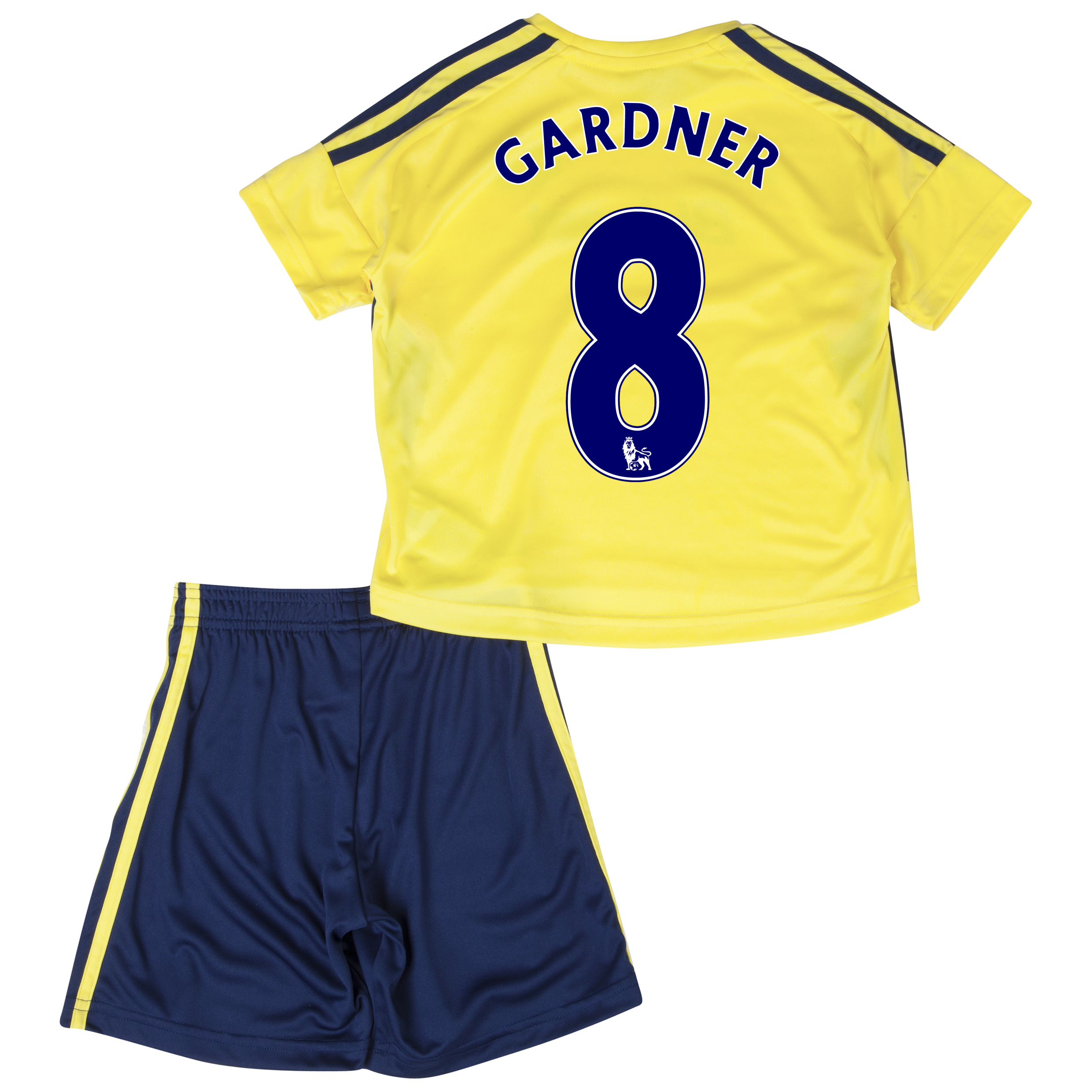 Sunderland Away Minikit 2013/14 - Infants with Gardner 8 printing
