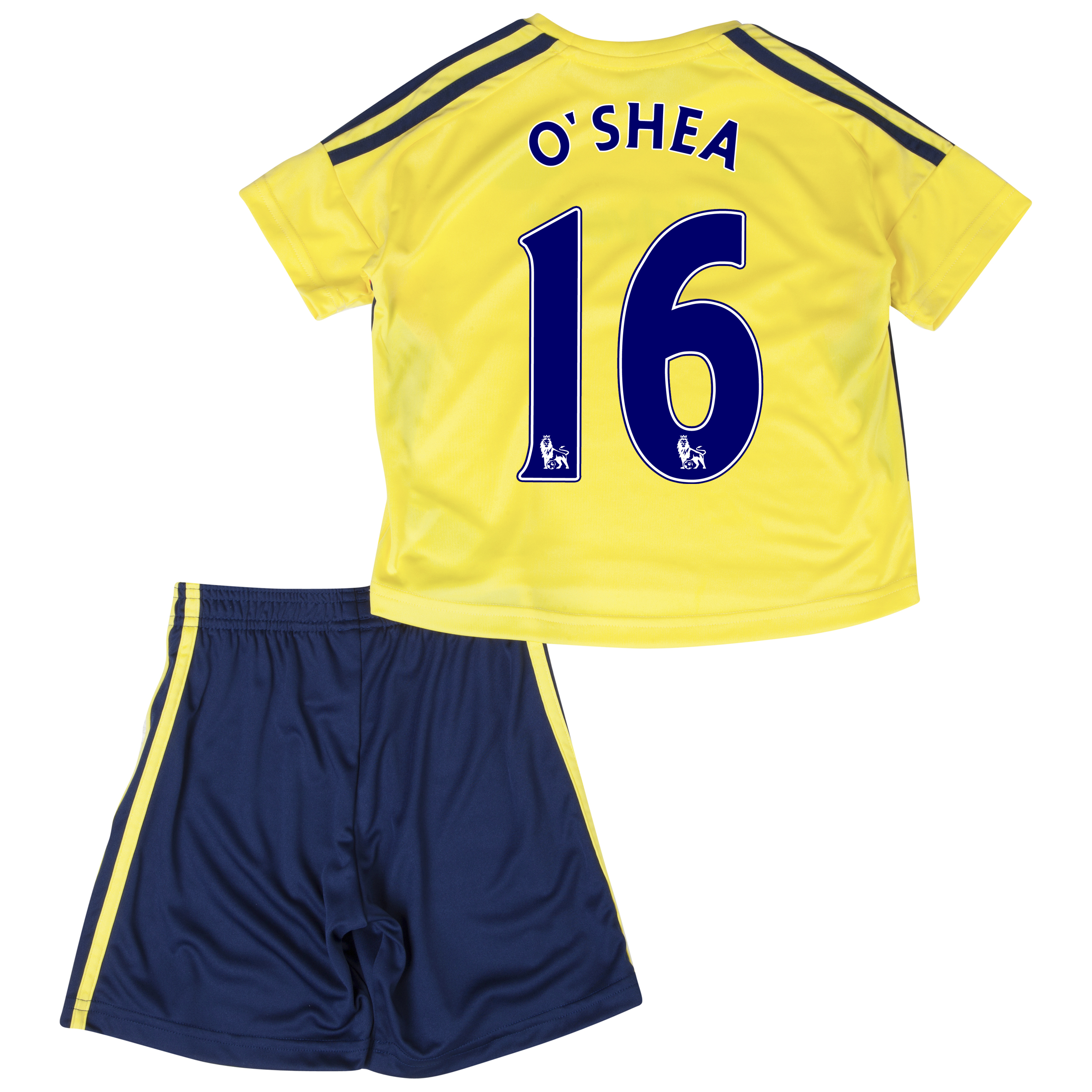Sunderland Away Minikit 2013/14 - Infants with O'Shea 16 printing
