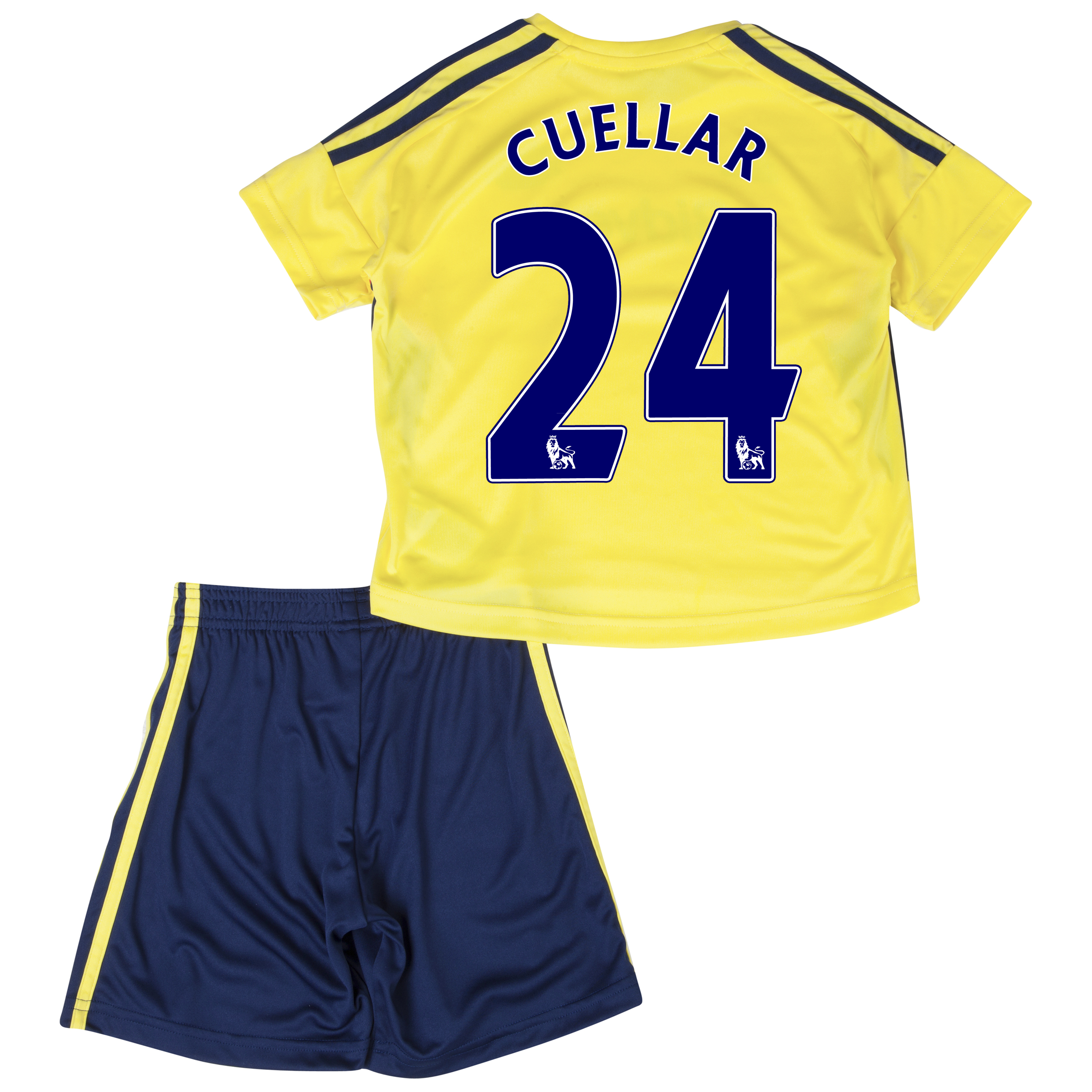 Sunderland Away Minikit 2013/14 - Infants with Cuellar 24 printing