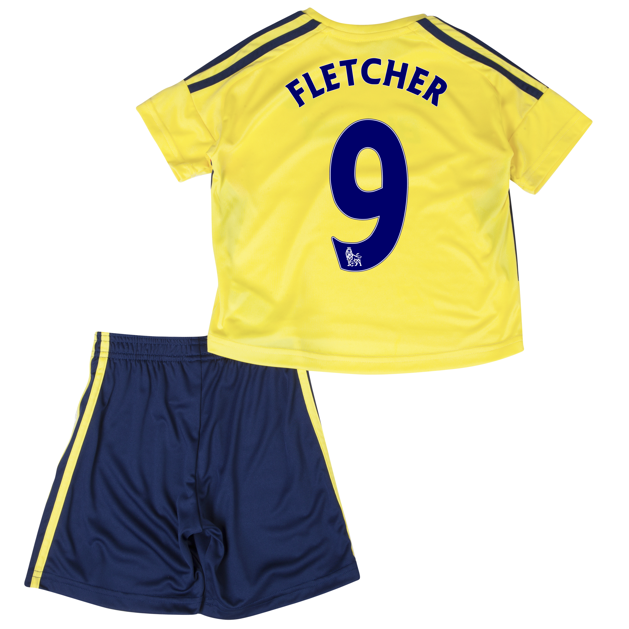 Sunderland Away Minikit 2013/14 - Infants with Fletcher 9 printing