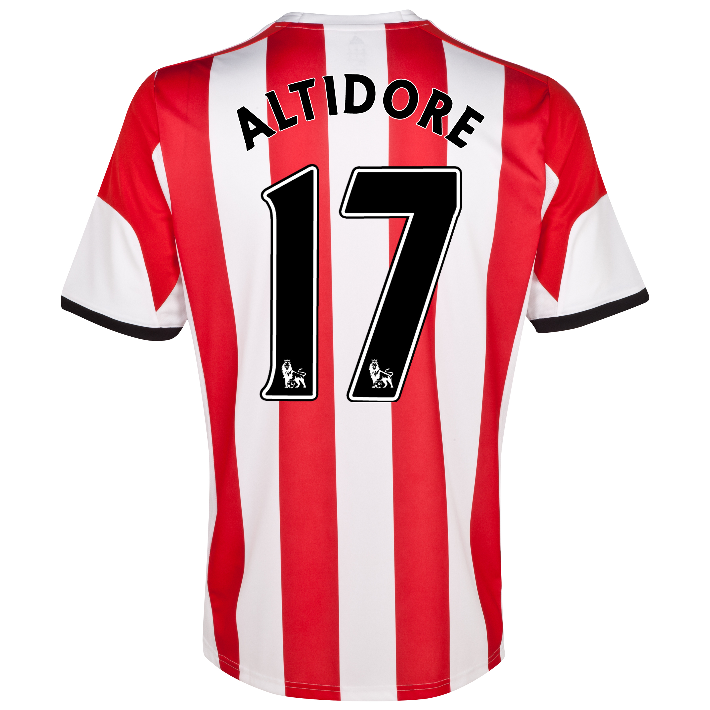 Sunderland Home Shirt 2013/14 with Altidore 17 printing