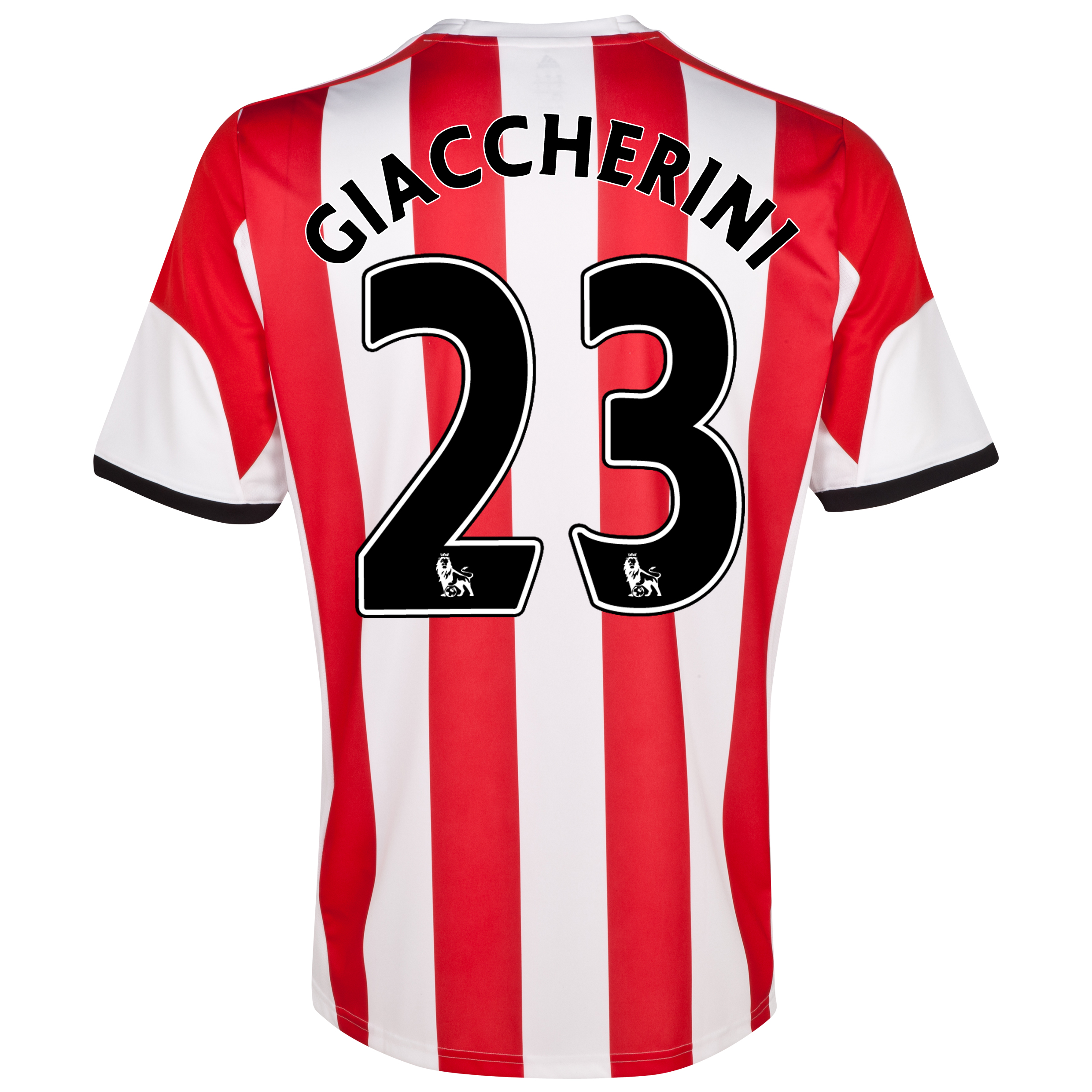 Sunderland Home Shirt 2013/14 with Giaccherini 23 printing