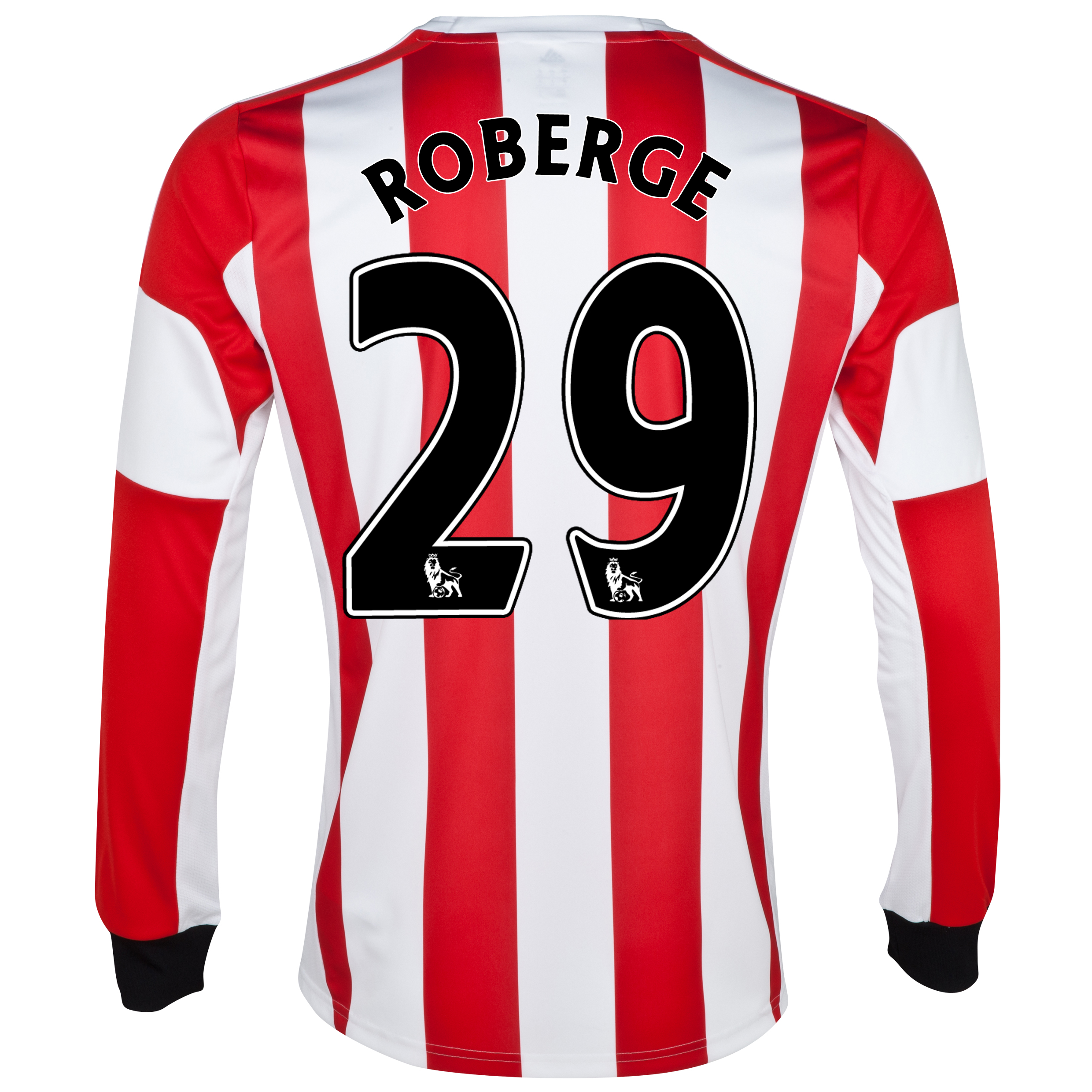 Sunderland Home Shirt 2013/14 - Long Sleeved with Roberge 29 printing