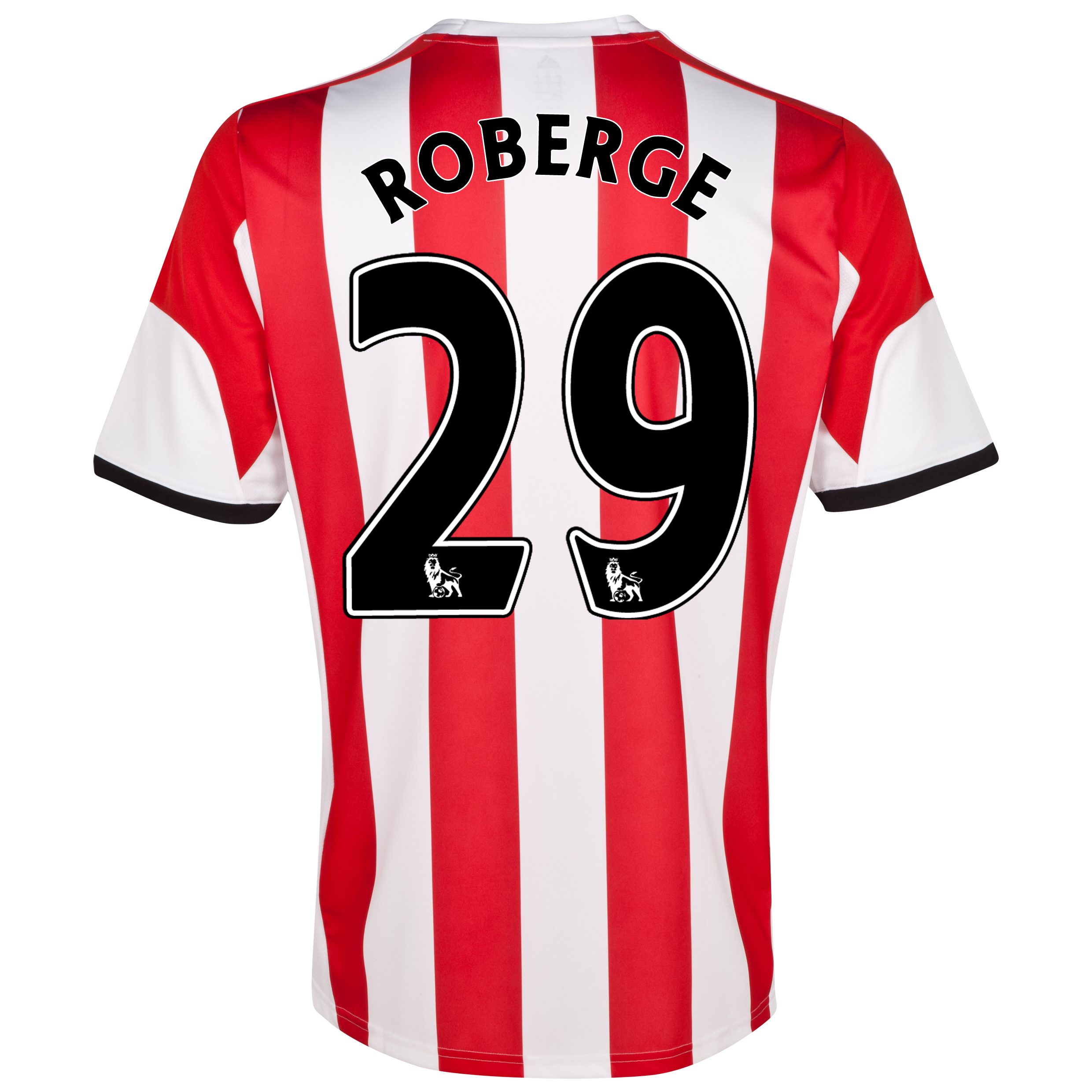 Sunderland Home Shirt 2013/14 - Junior with Roberge 29 printing