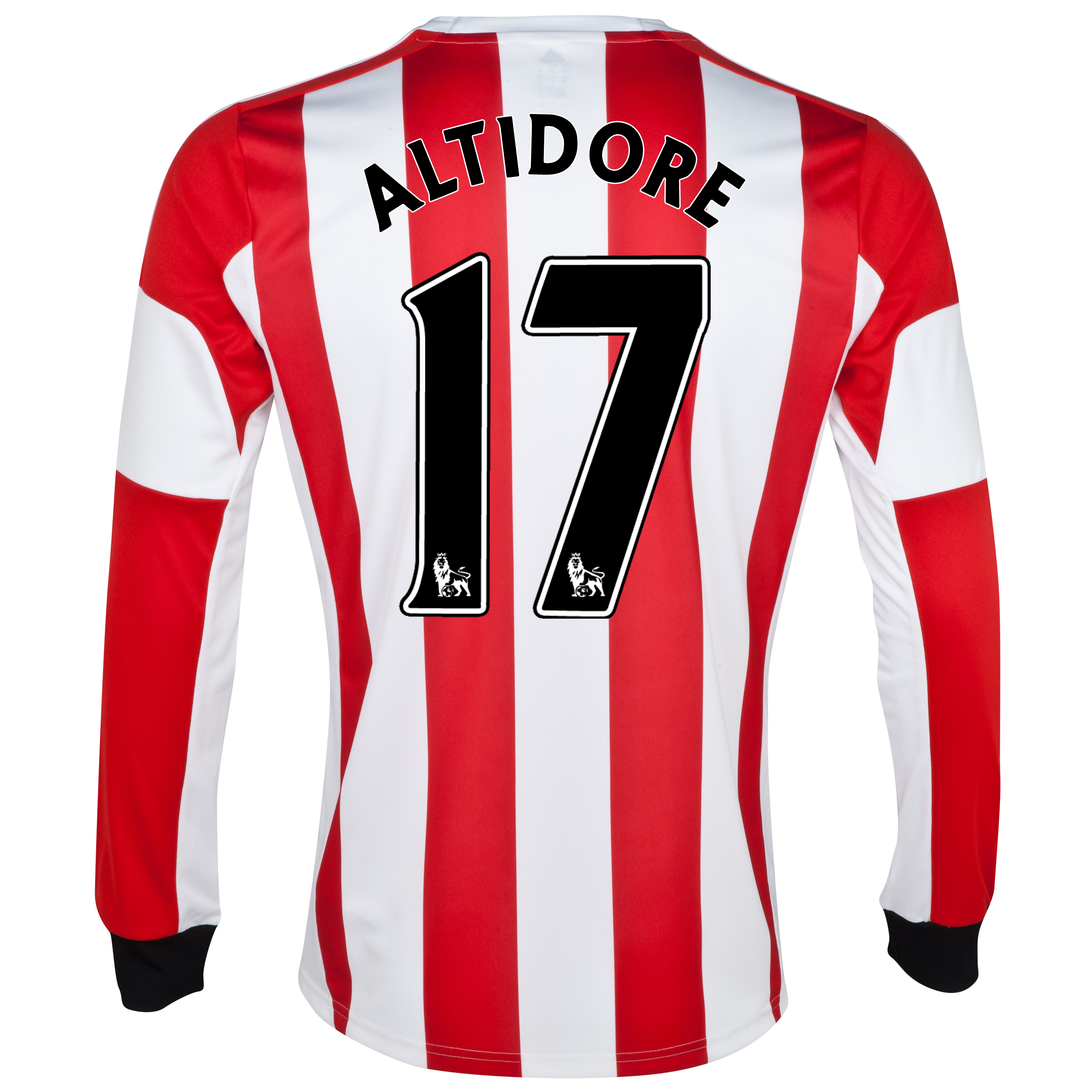 Sunderland Home Shirt 2013/14 - Long Sleeved - Junior with Altidore 17 printing