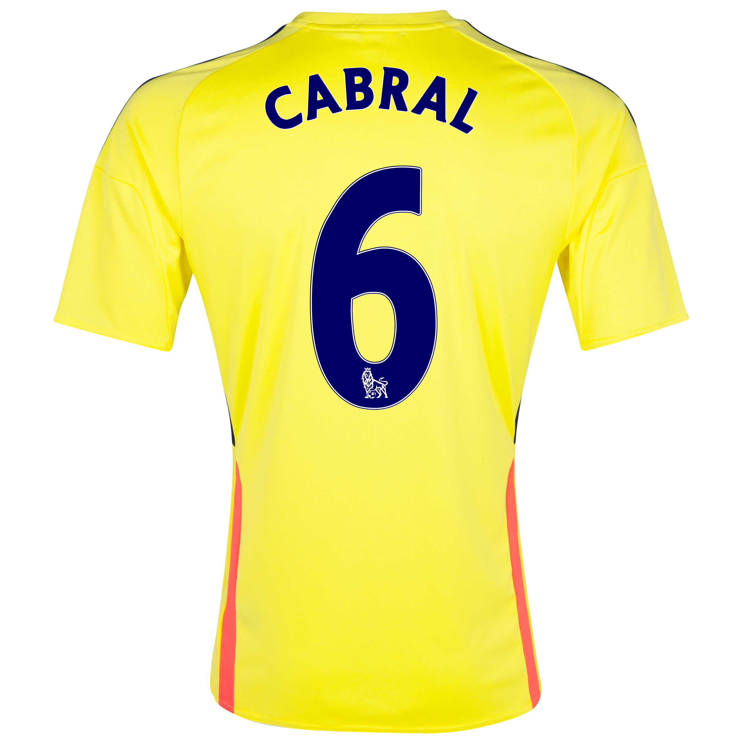 Sunderland Away Shirt 2013/14 with Cabral 6 printing