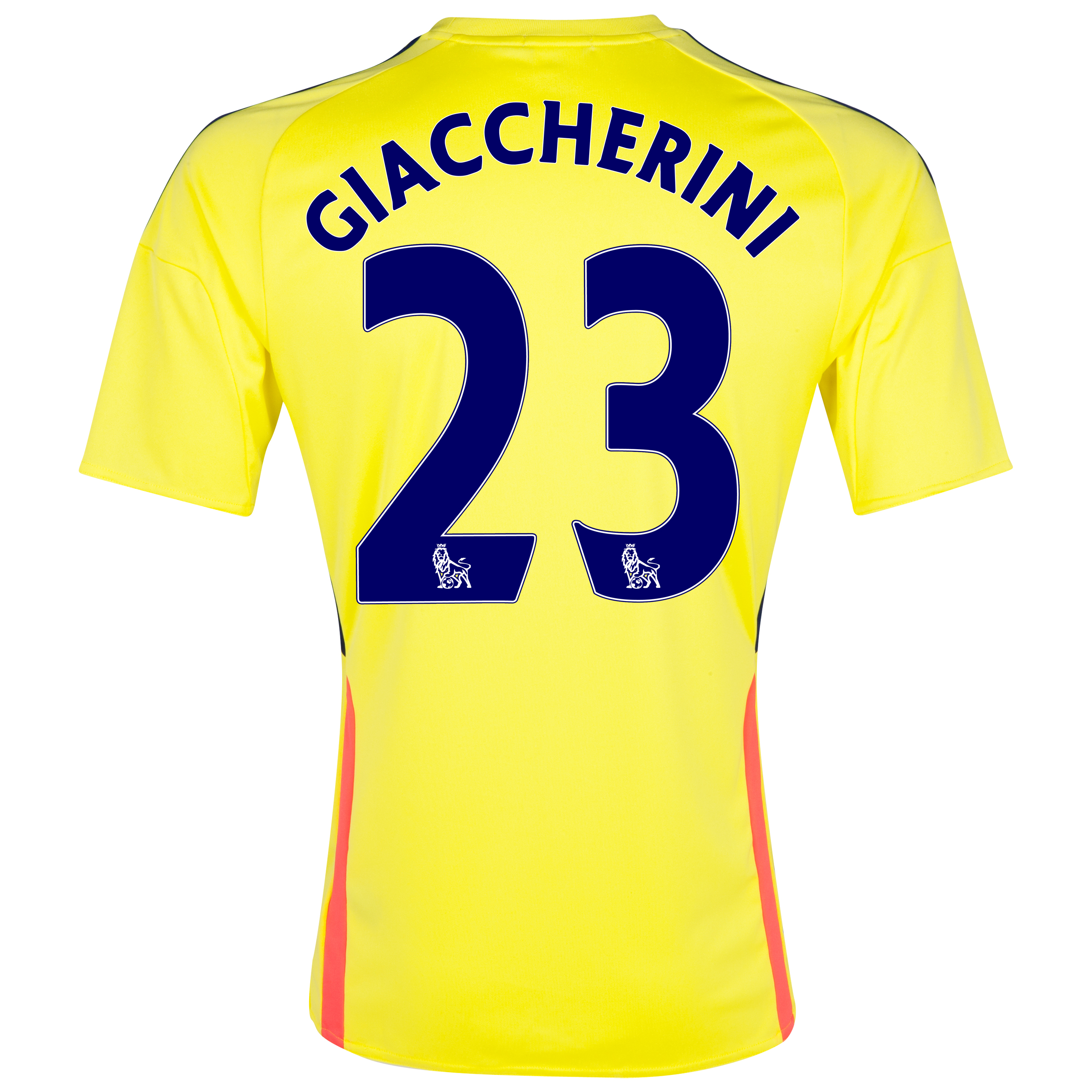 Sunderland Away Shirt 2013/14 with Giaccherini 23 printing