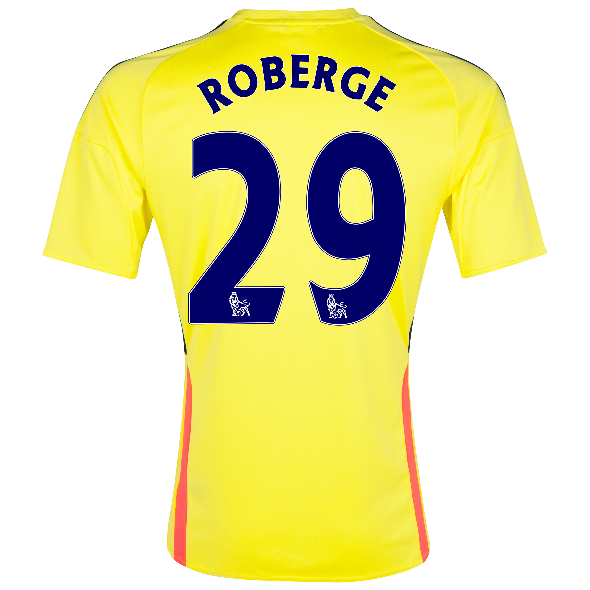 Sunderland Away Shirt 2013/14 with Roberge 29 printing