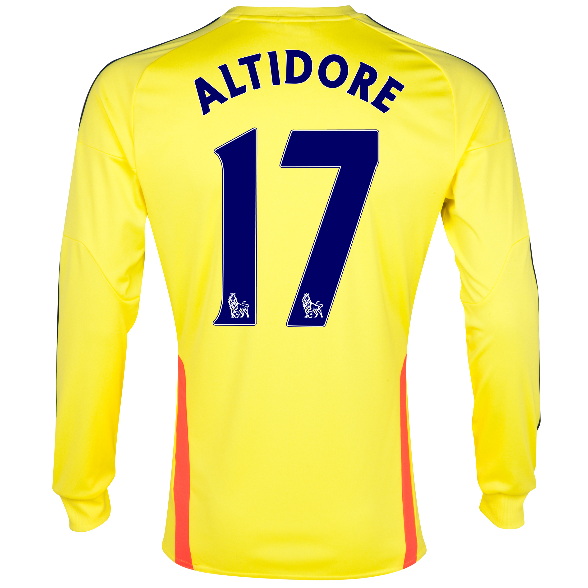 Sunderland Away Shirt 2013/14 - Long Sleeved with Altidore 17 printing