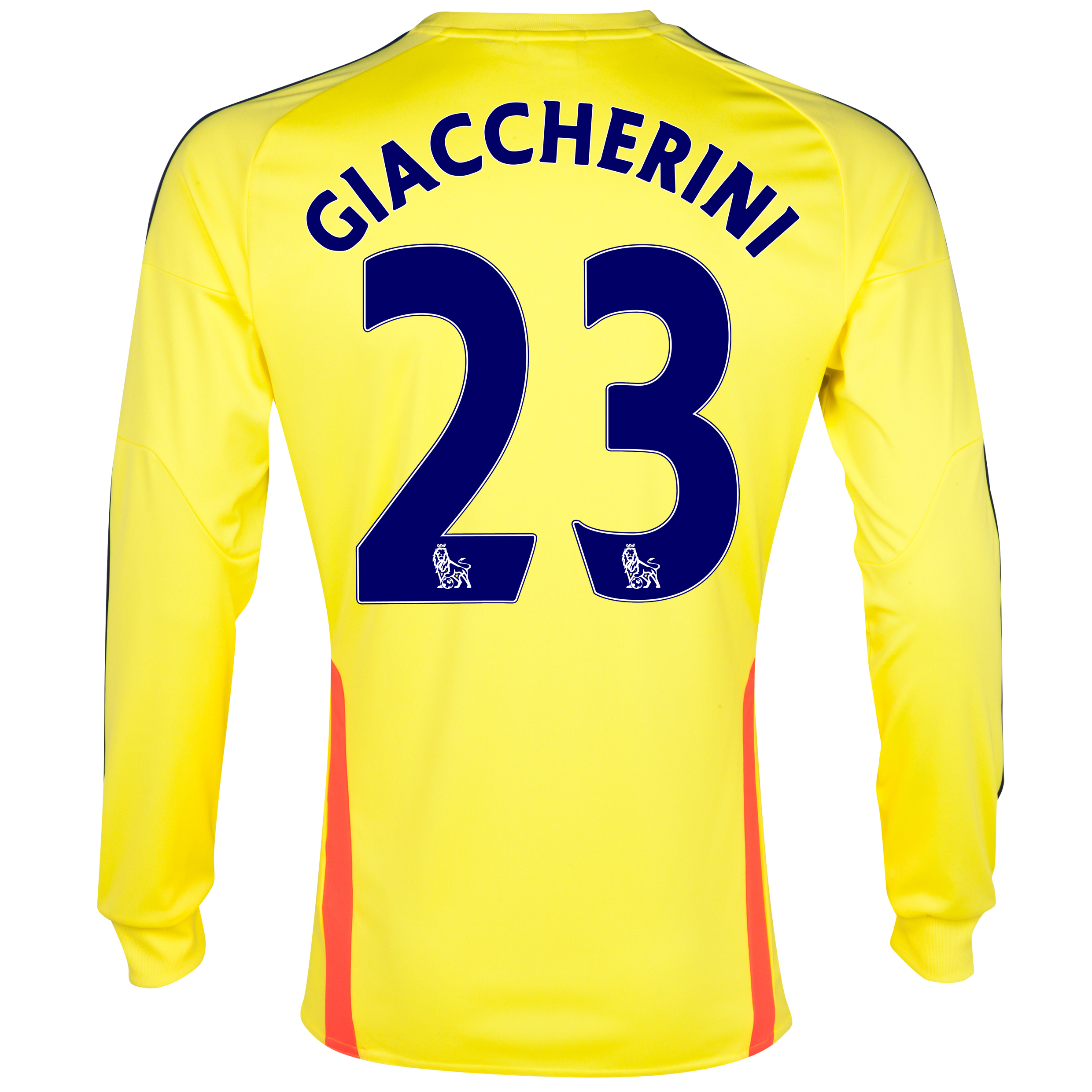 Sunderland Away Shirt 2013/14 - Long Sleeved with Giaccherini 23 printing