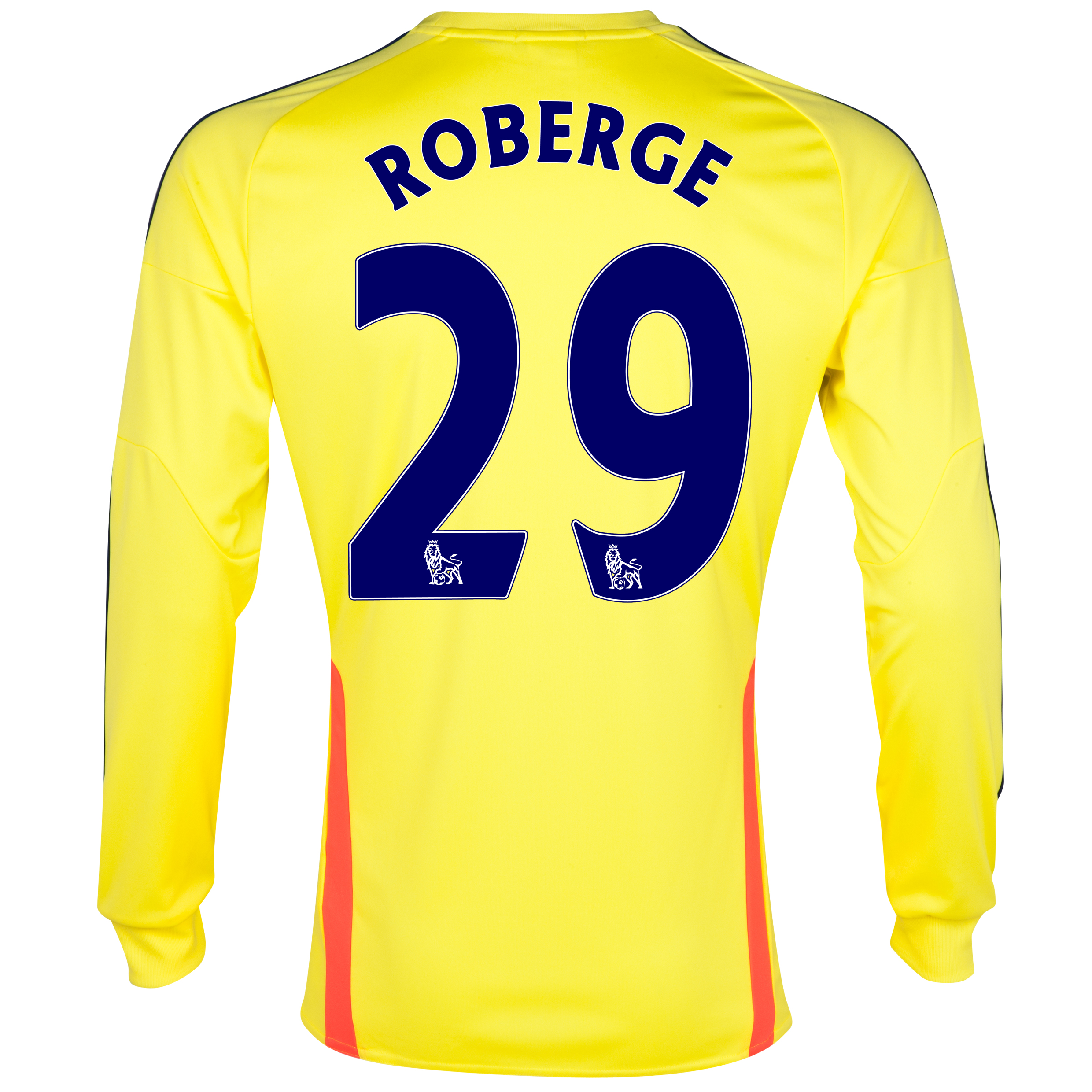 Sunderland Away Shirt 2013/14 - Long Sleeved with Roberge 29 printing