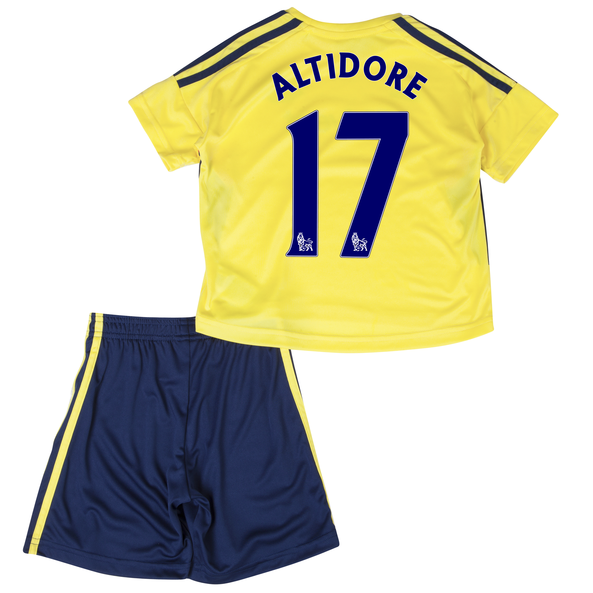Sunderland Away Minikit 2013/14 - Infants with Altidore 17 printing