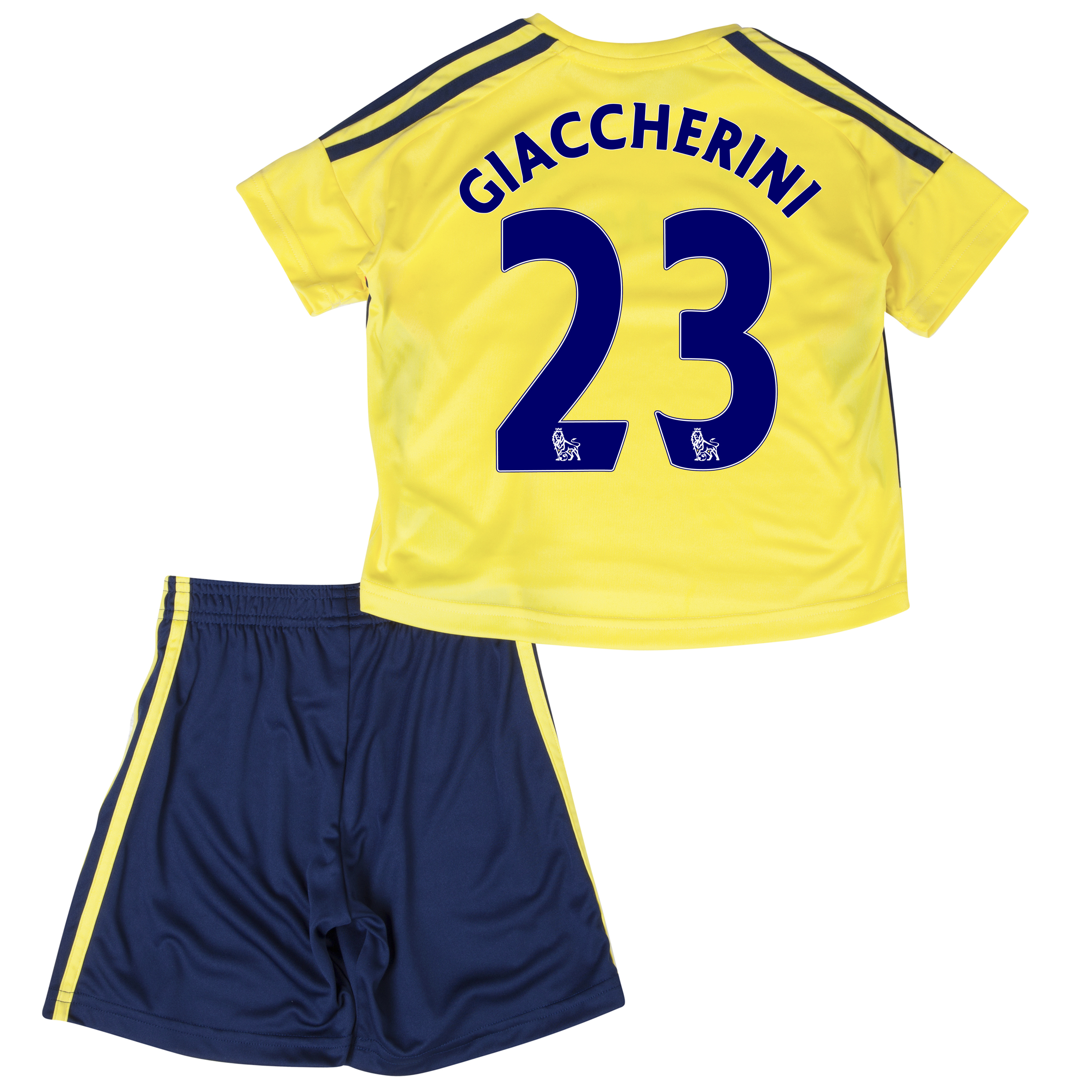 Sunderland Away Minikit 2013/14 - Infants with Giaccherini 23 printing