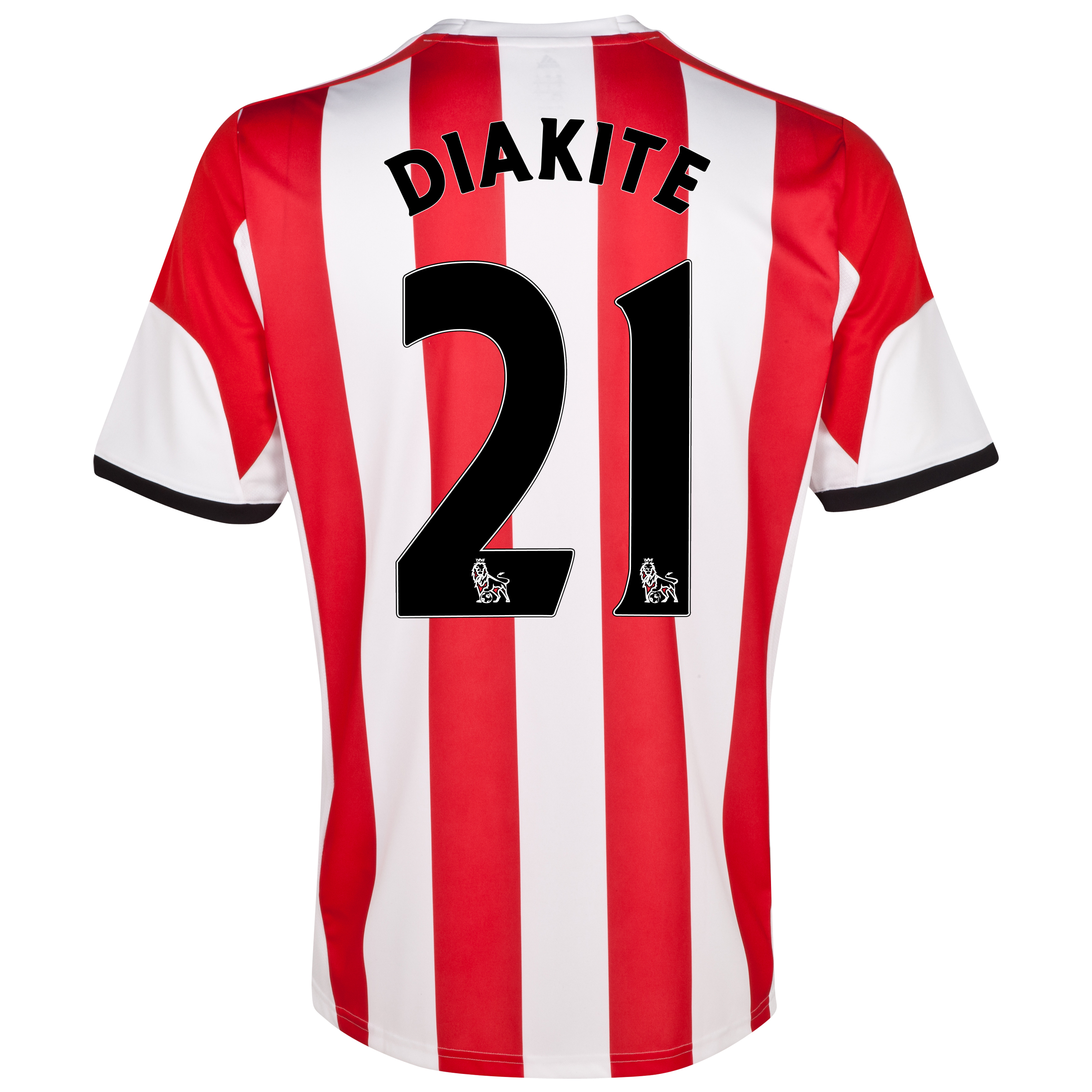 Sunderland Home Shirt 2013/14 with Diakite 21 printing