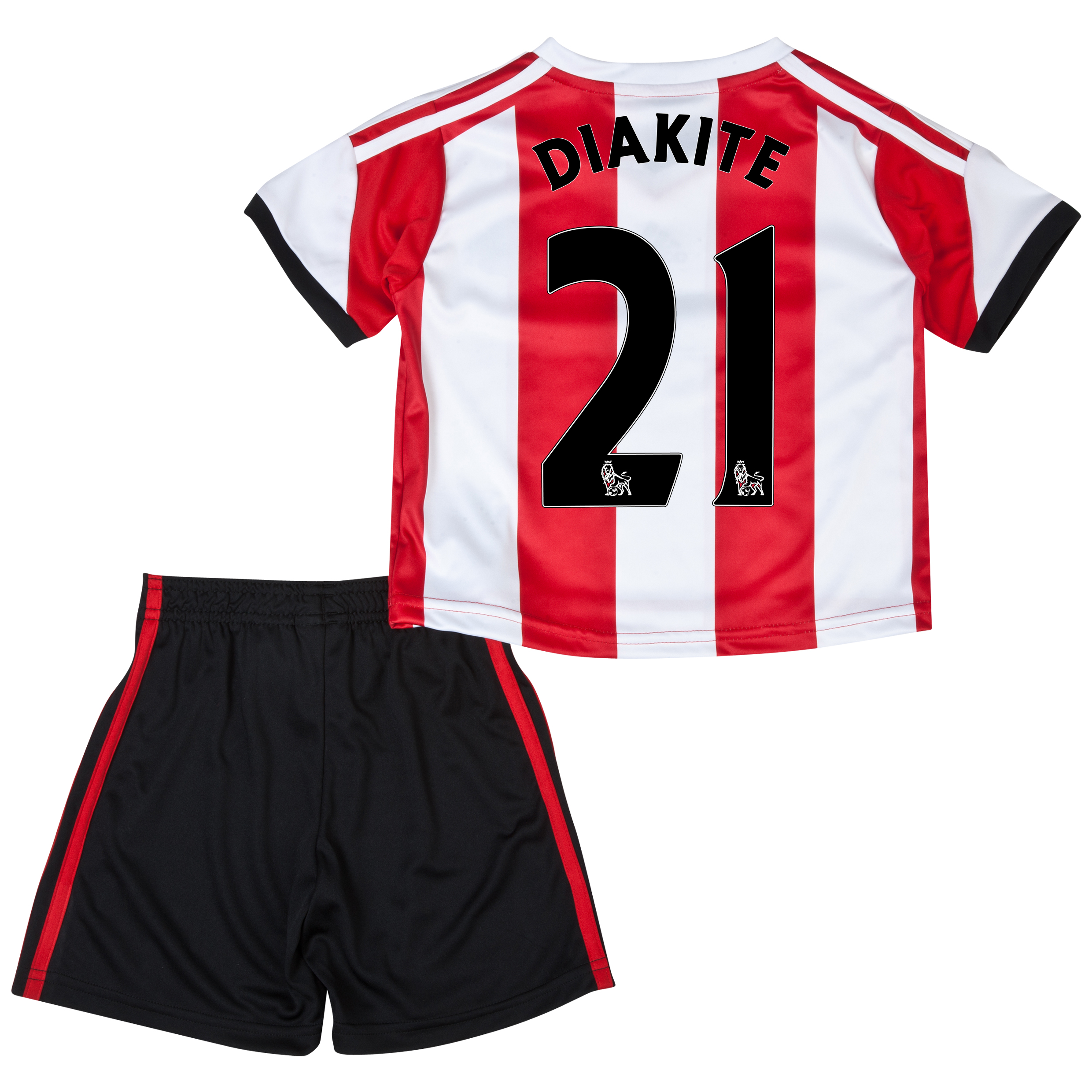Sunderland Home Minikit 2013/14 - Infants with Diakite 21 printing