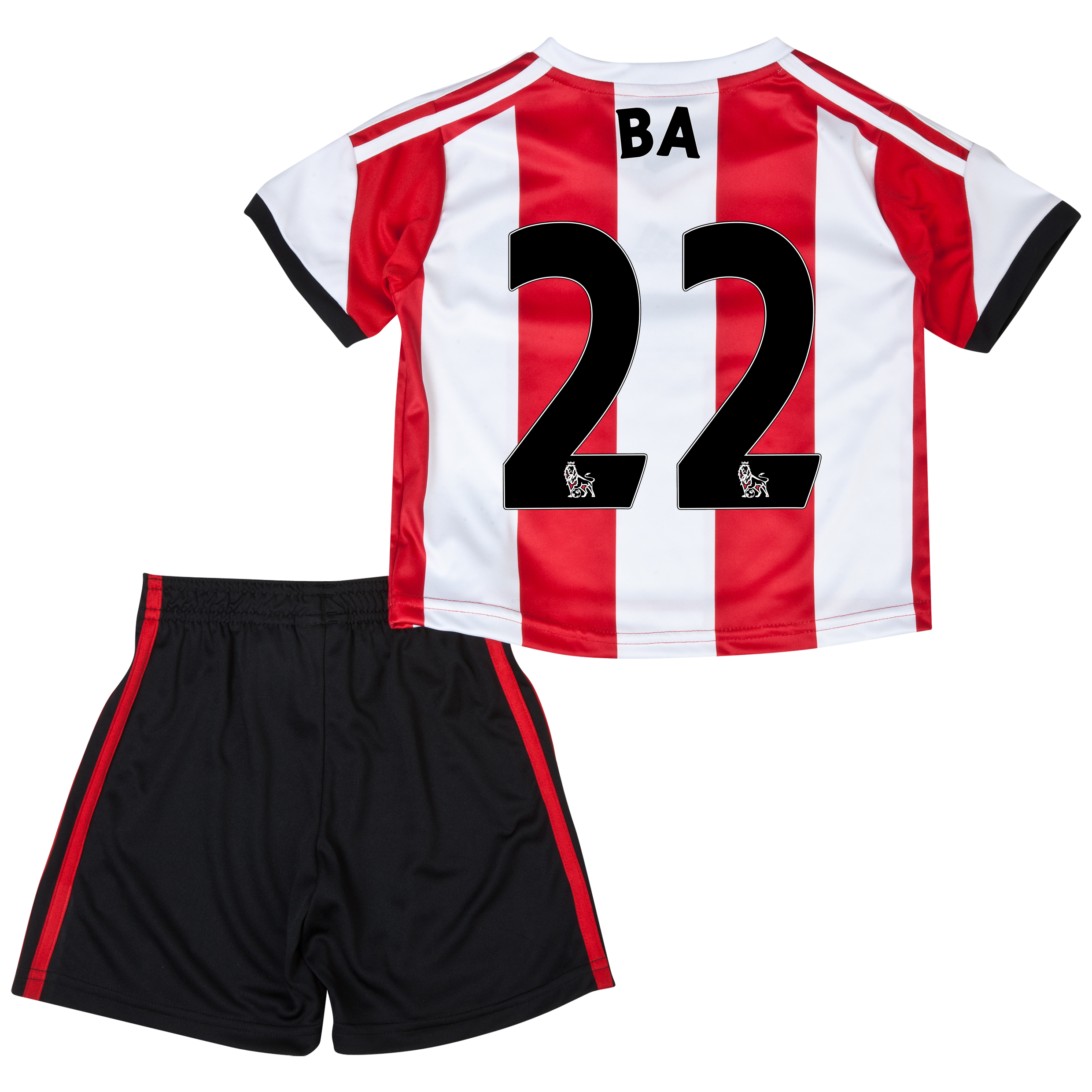 Sunderland Home Minikit 2013/14 - Infants with Ba 22 printing