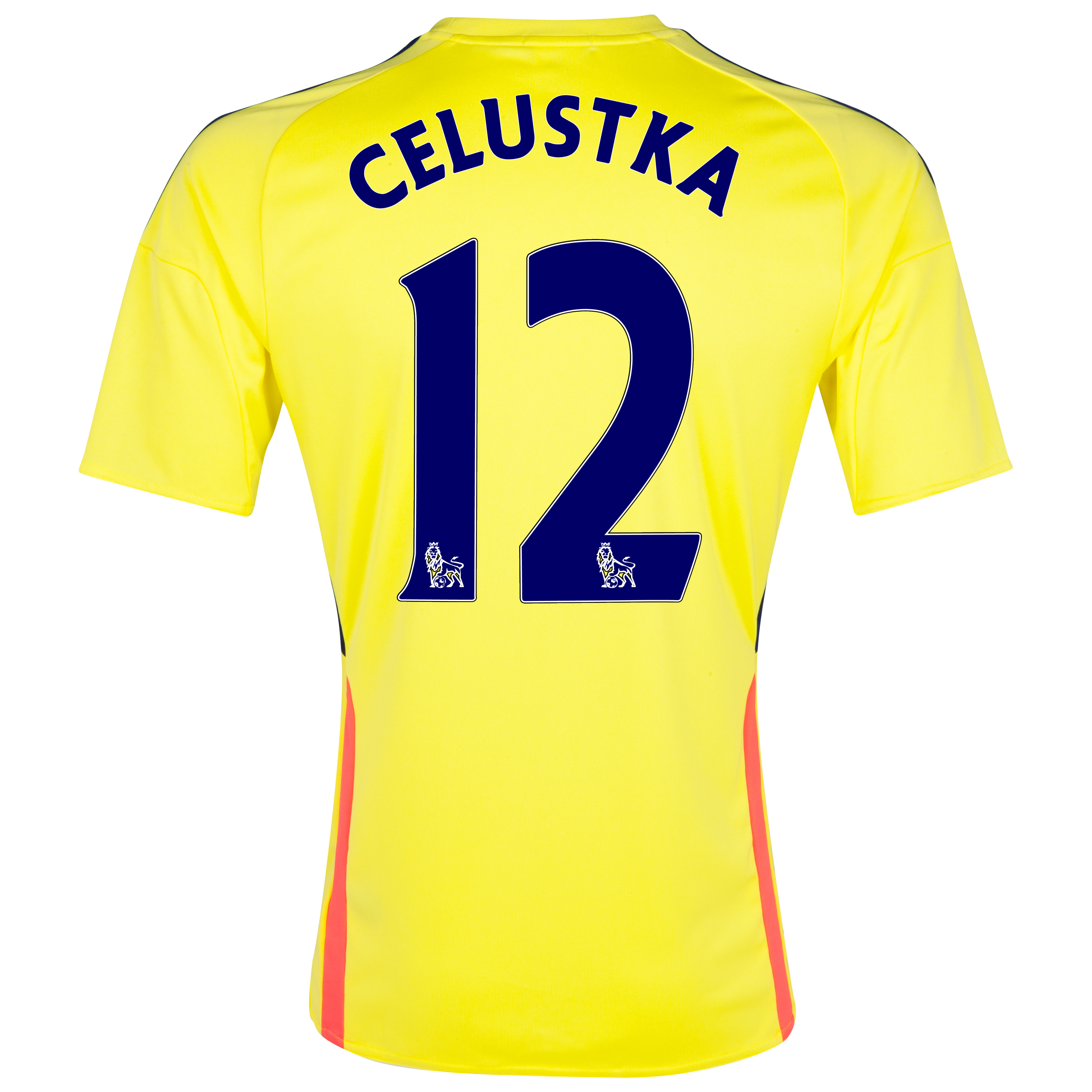 Sunderland Away Shirt 2013/14 with Celustka 12 printing