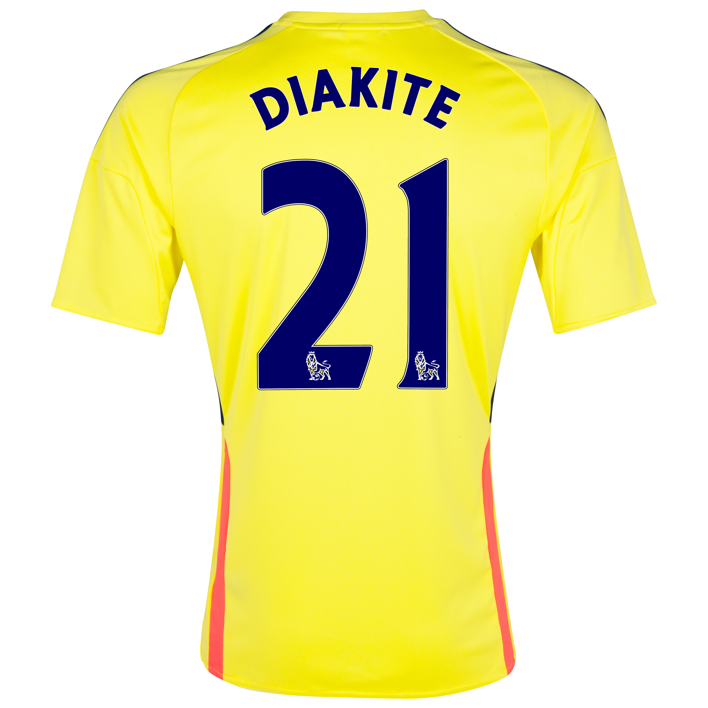 Sunderland Away Shirt 2013/14 with Diakite 21 printing
